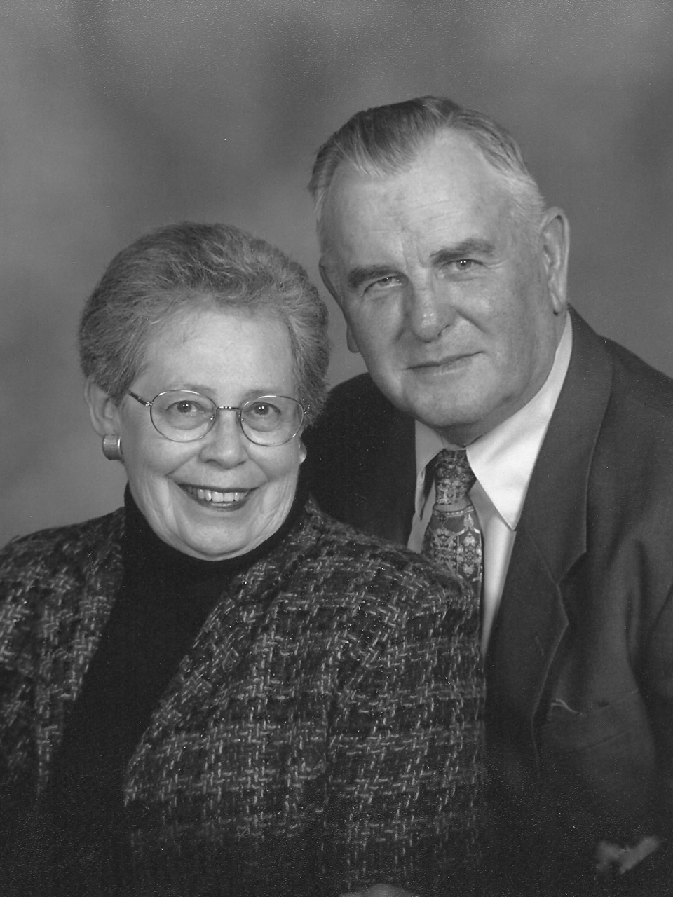 Robert and Evelyn Burkitt