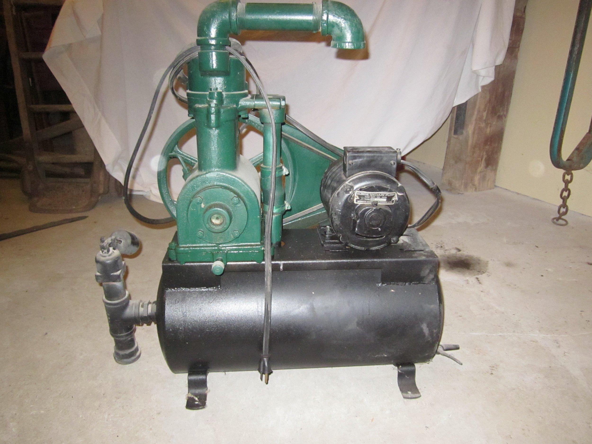 Pump, milking