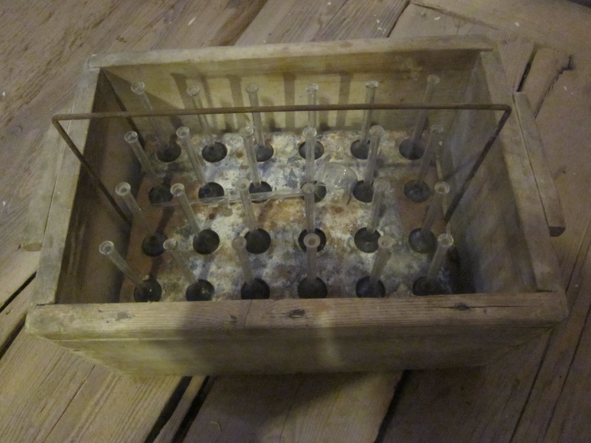 Methylene blue testing kit
