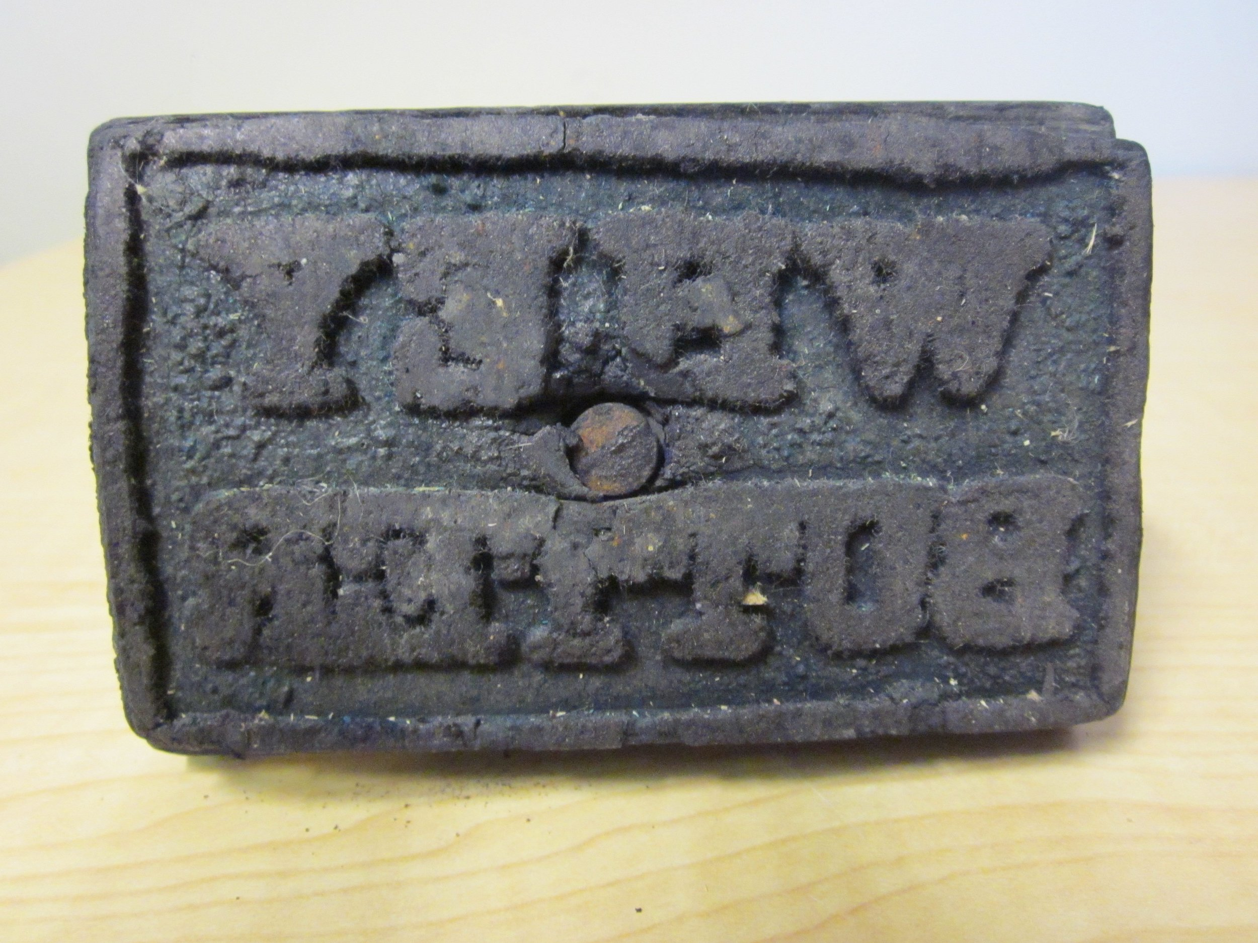 Whey butter stamp