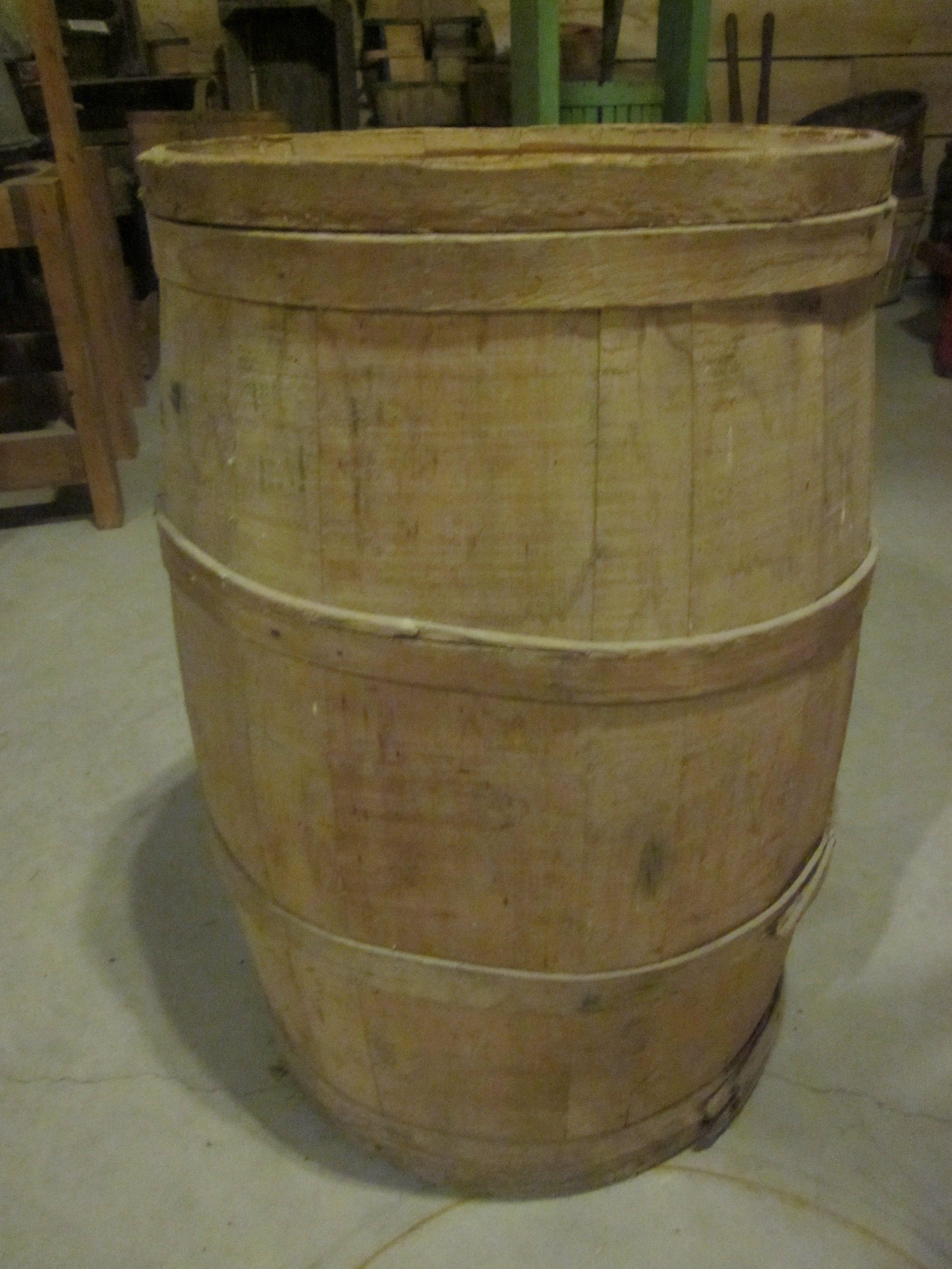 Apple storage barrel