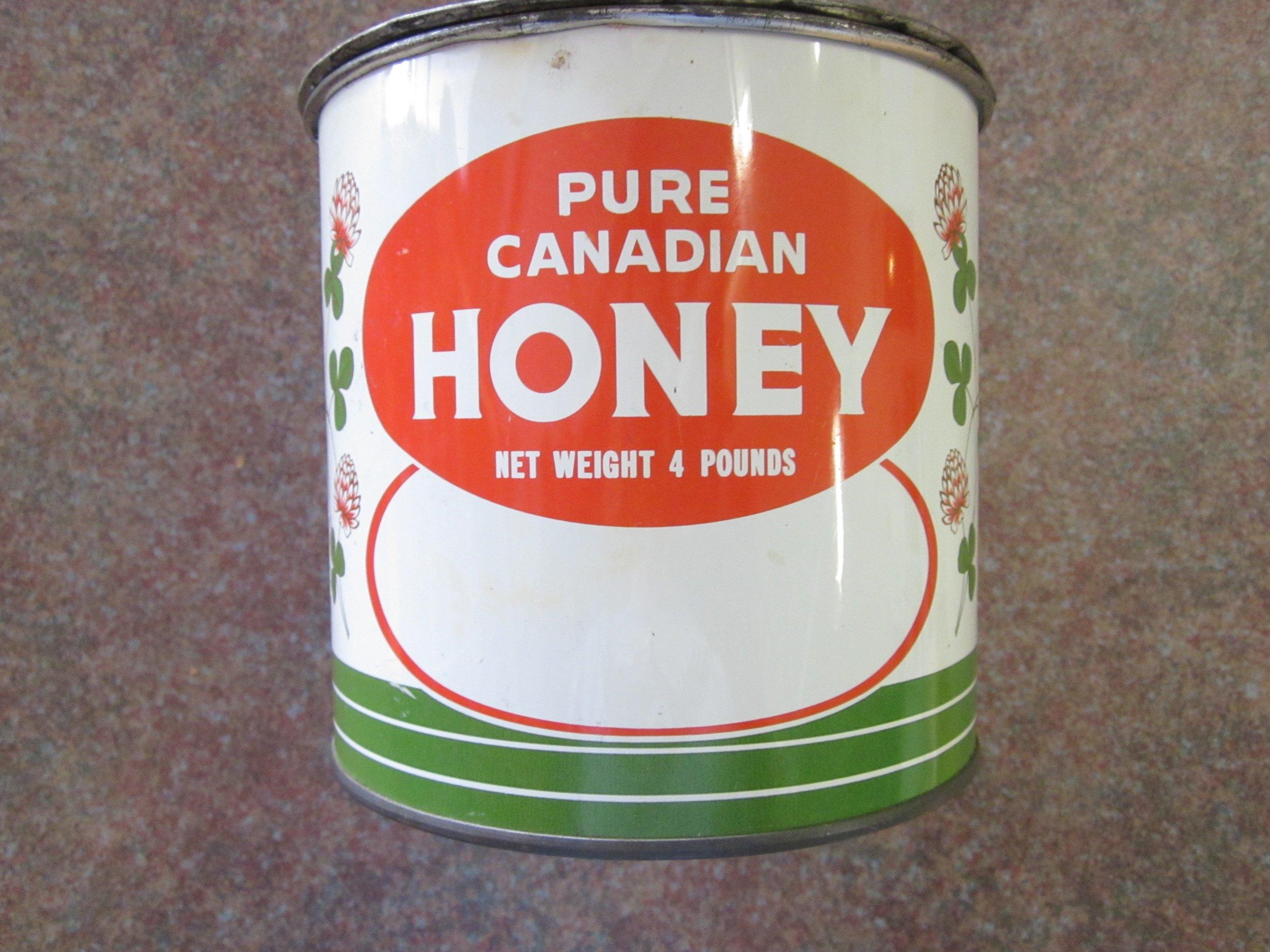 Honey tin