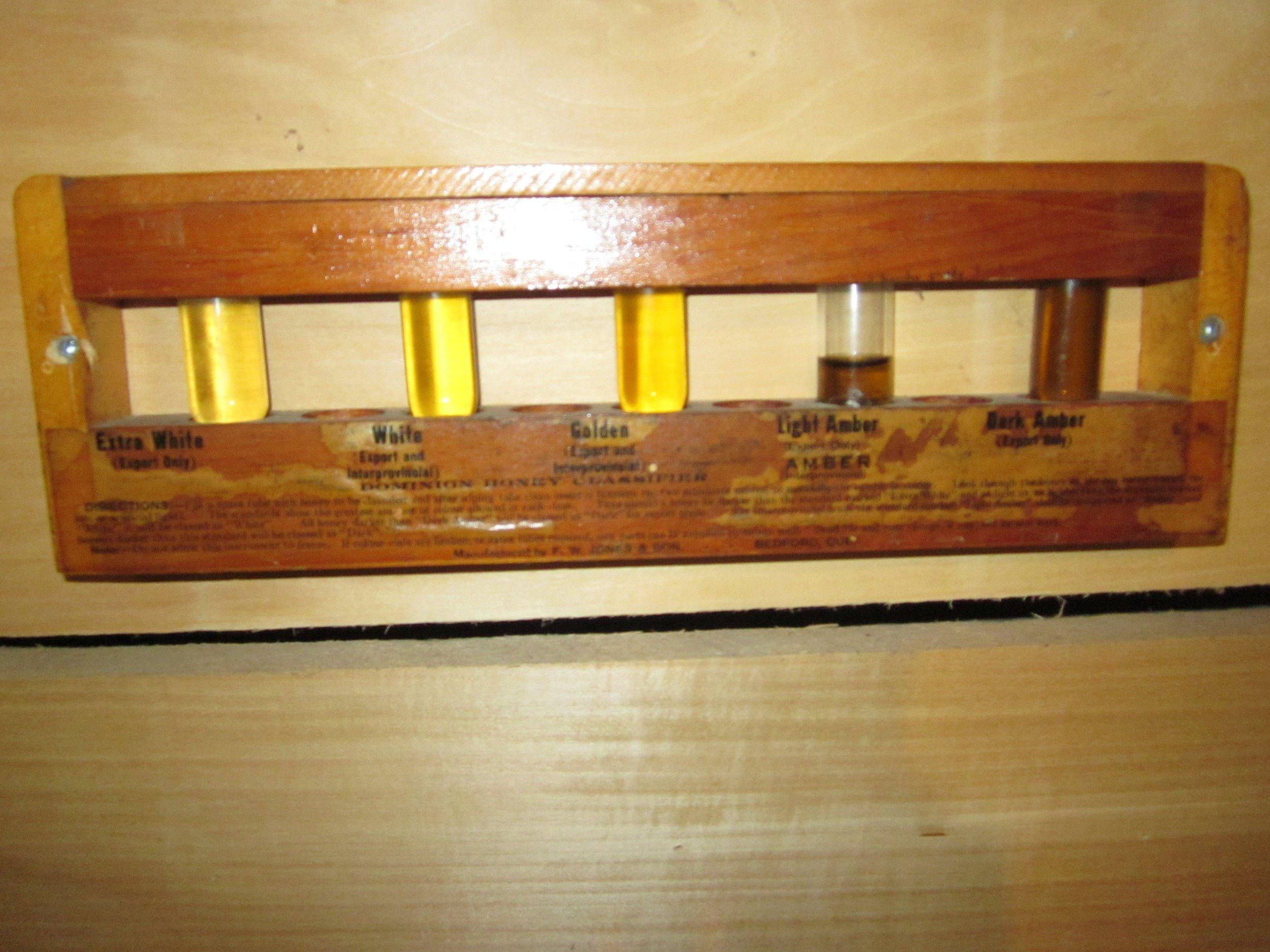Classifier kit for honey