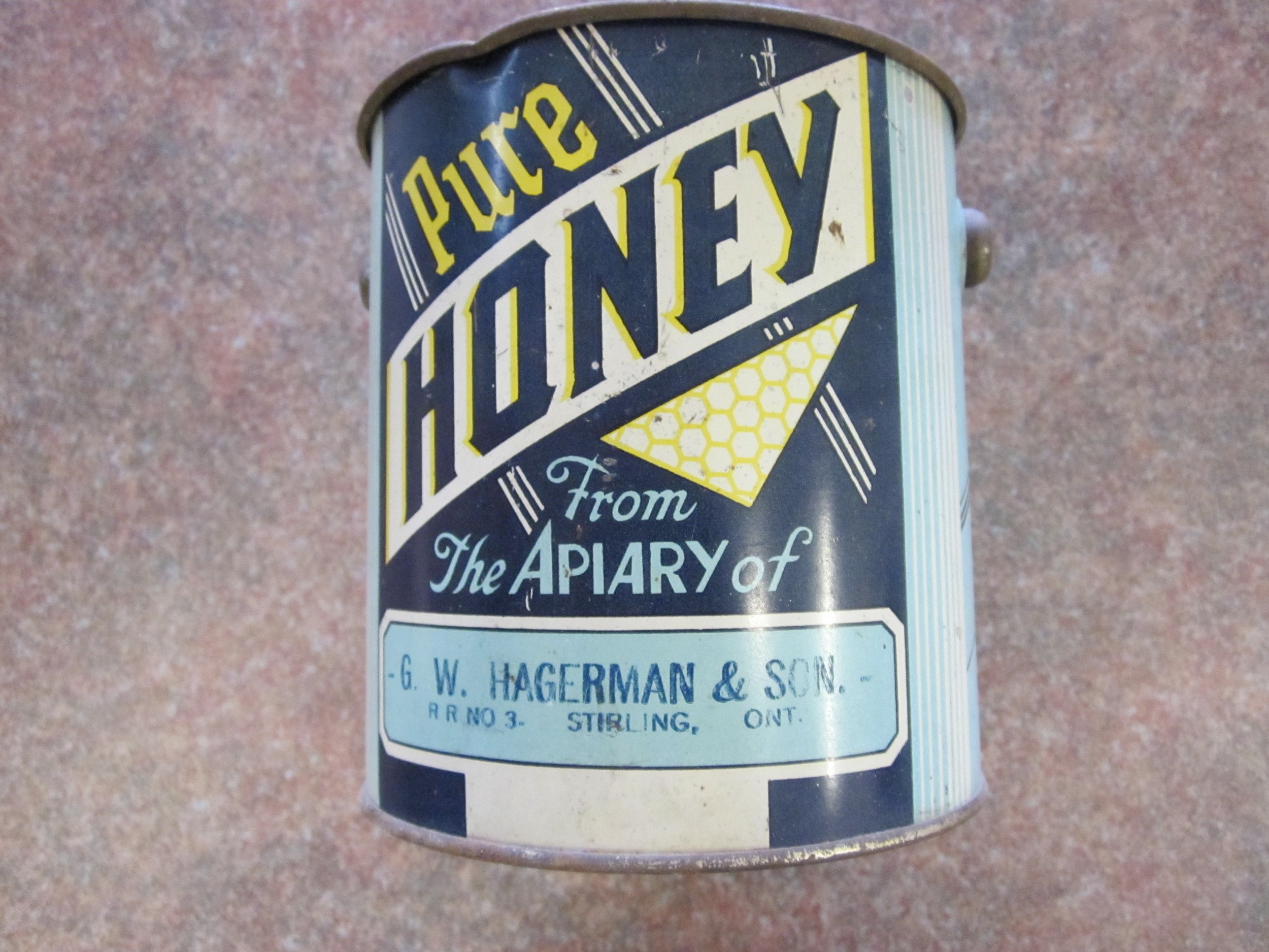 Honey tin