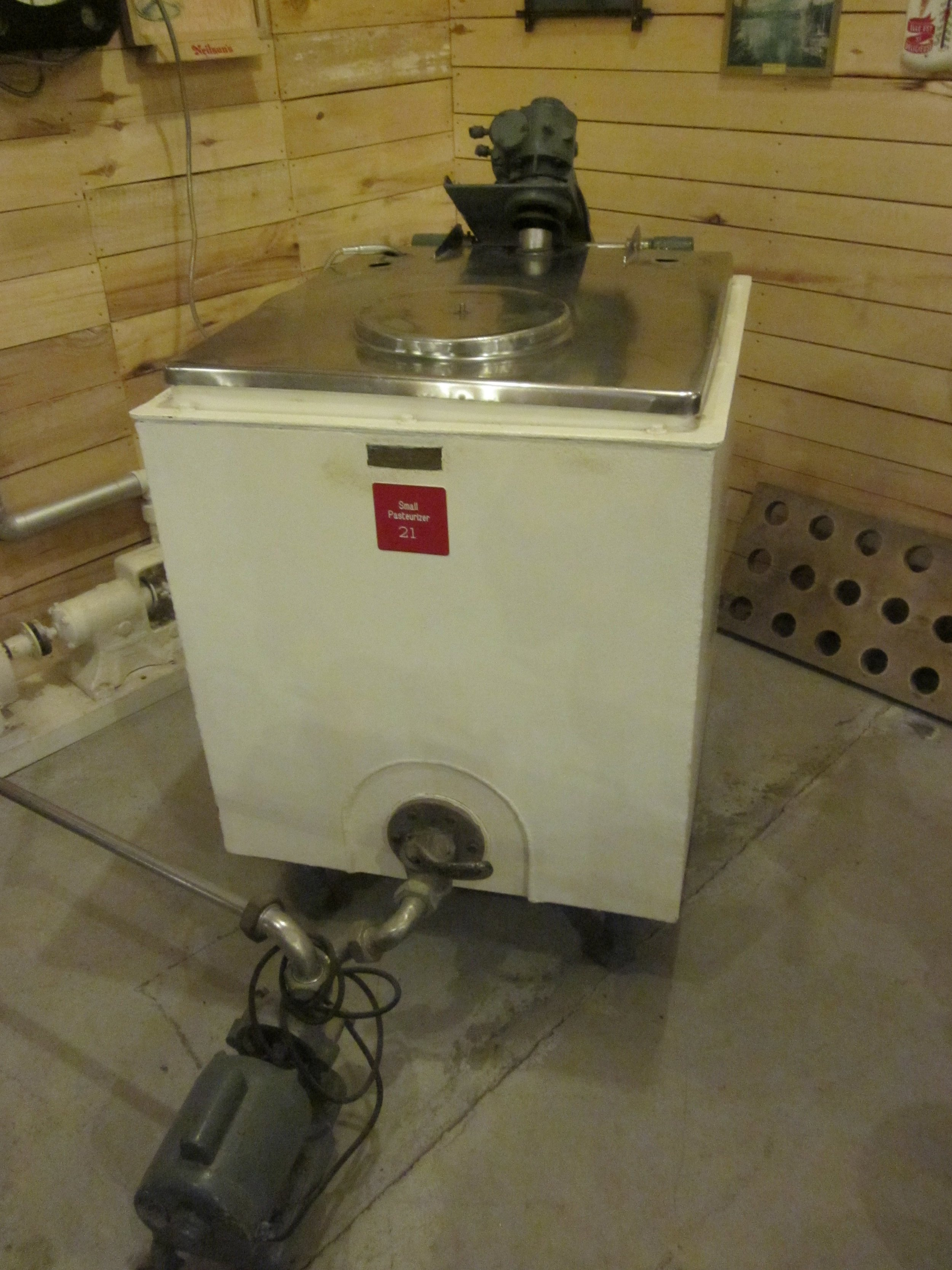 Small pasteurizer