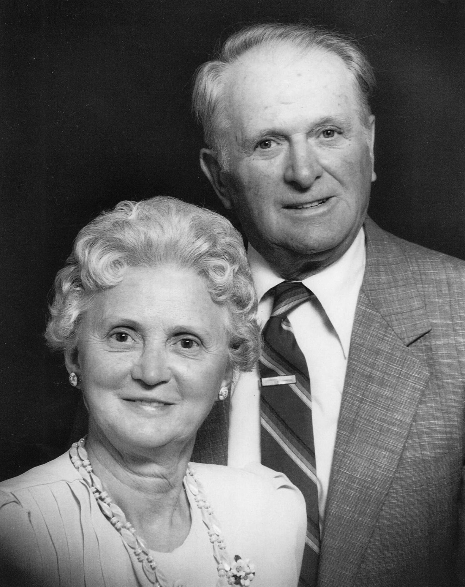 Wilma and Carman Huffman