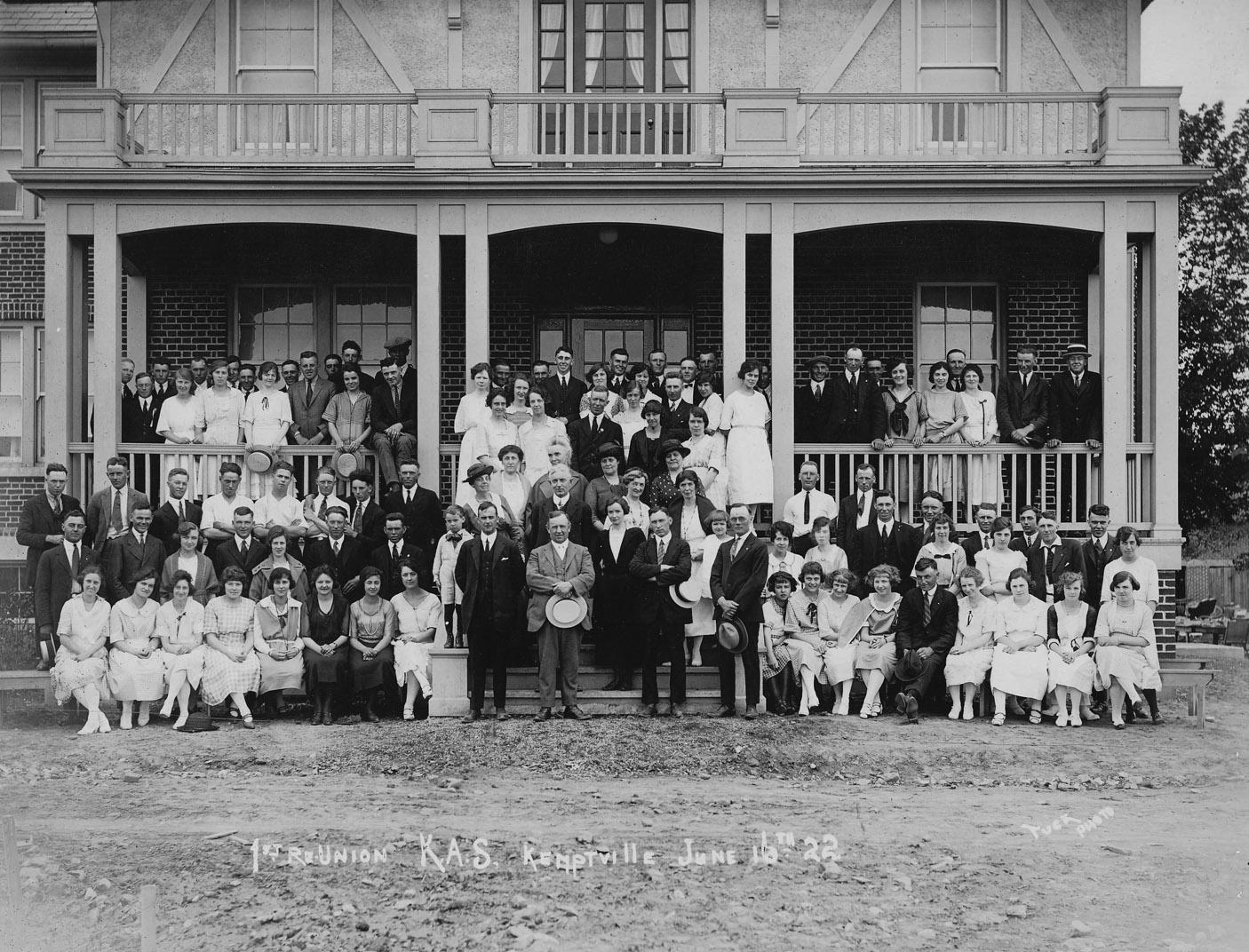 Kemptville Agricultural Col    lege 1922