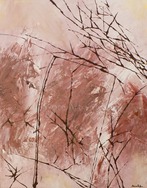 """Crepe nelle Pietre""  Acrylic on Canvas 24x36  $350"