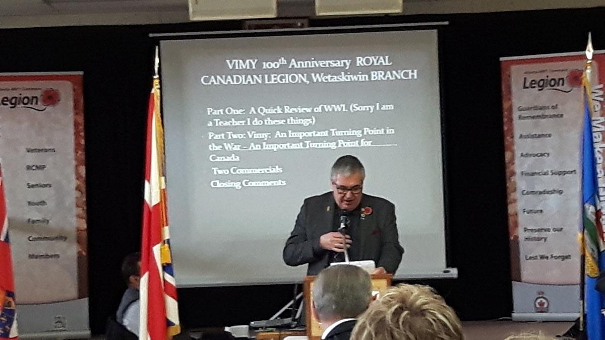 9. Mayor Elliot Speaking - Vimy 2017.jpg