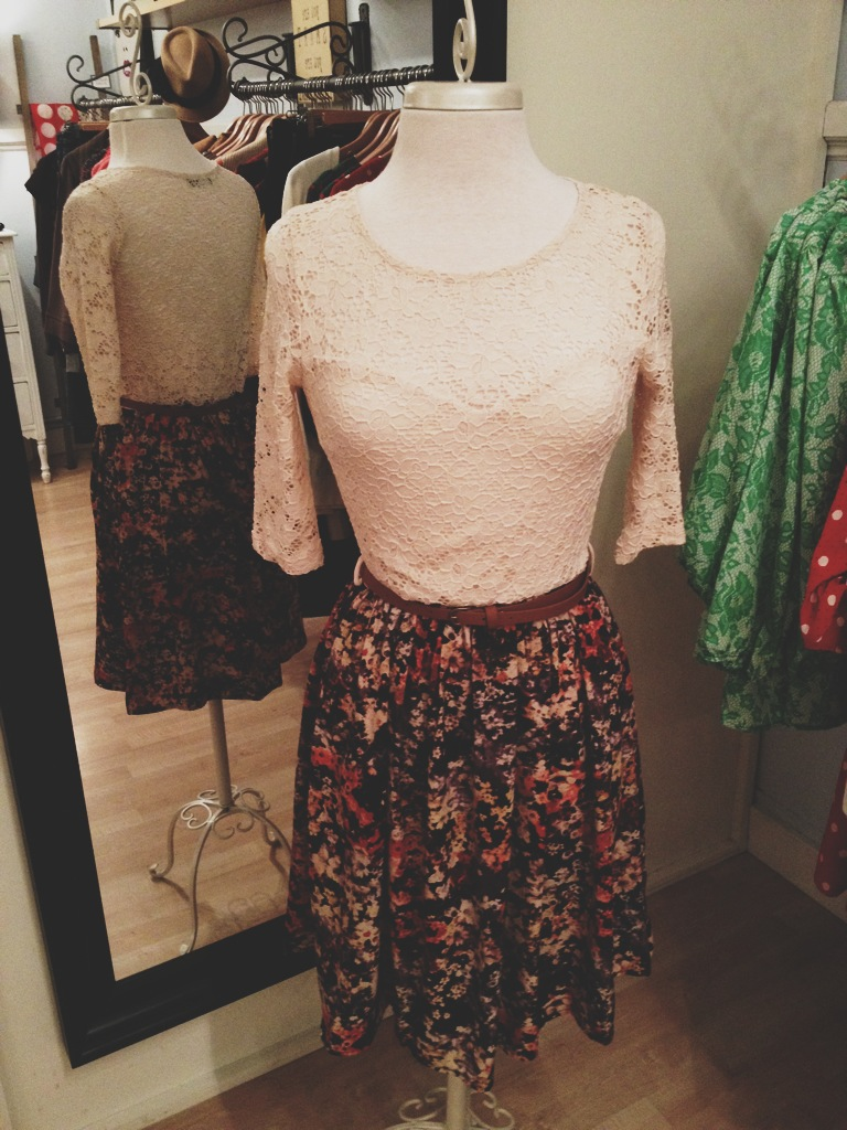 Lacy Floral Dress with Belt.jpg