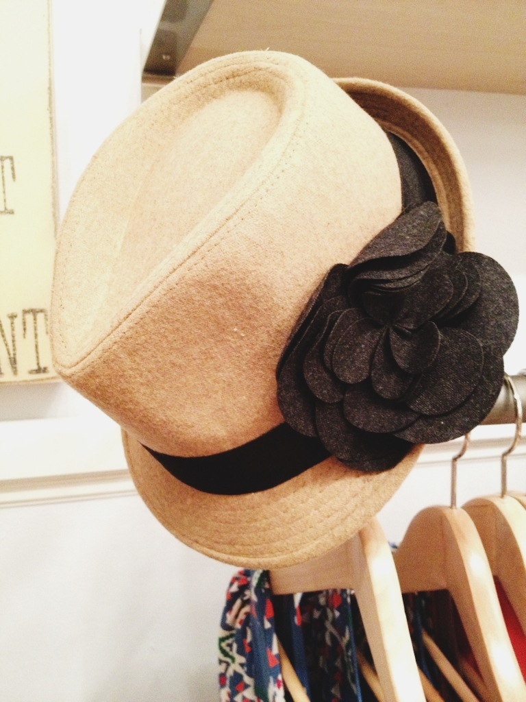 Funky and Fashionable Floral Fedora!