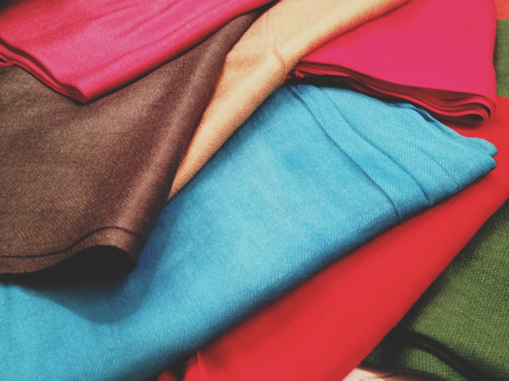 This just in! Pashmina scarves in all different colors! Perfect for anyone...especially in this weather!