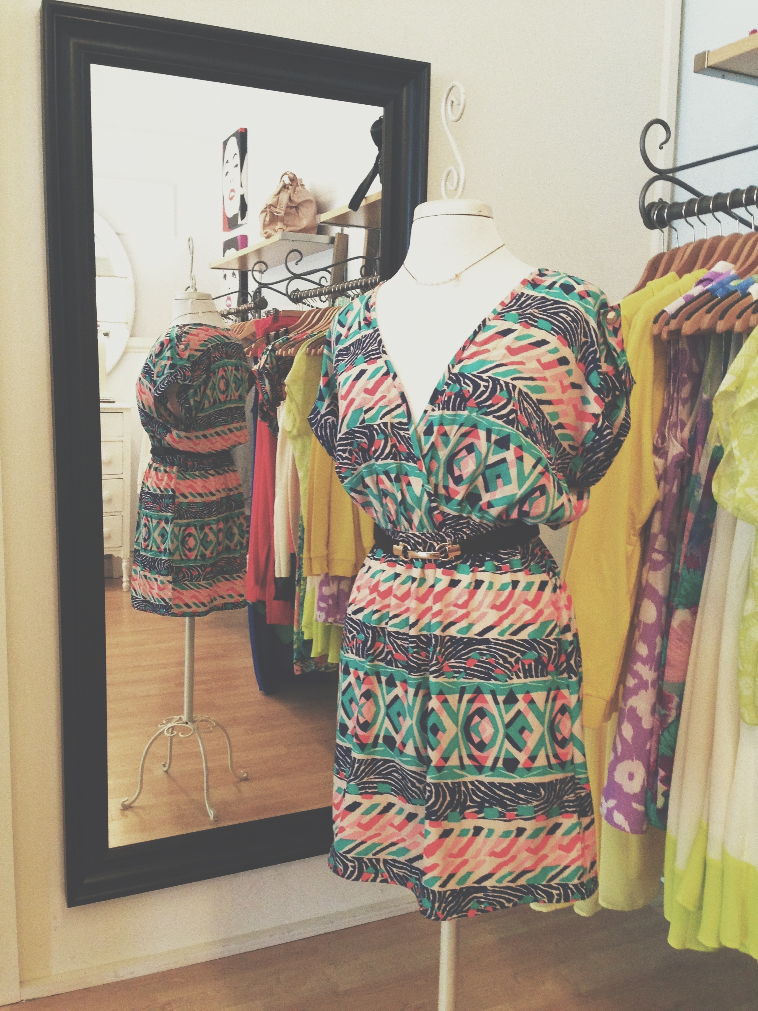 Did I mention we have tribal print?