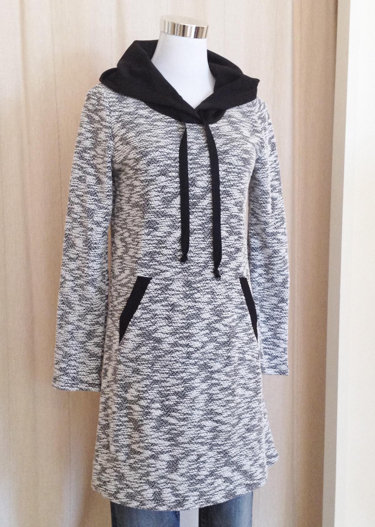 Marled Hoody Dress