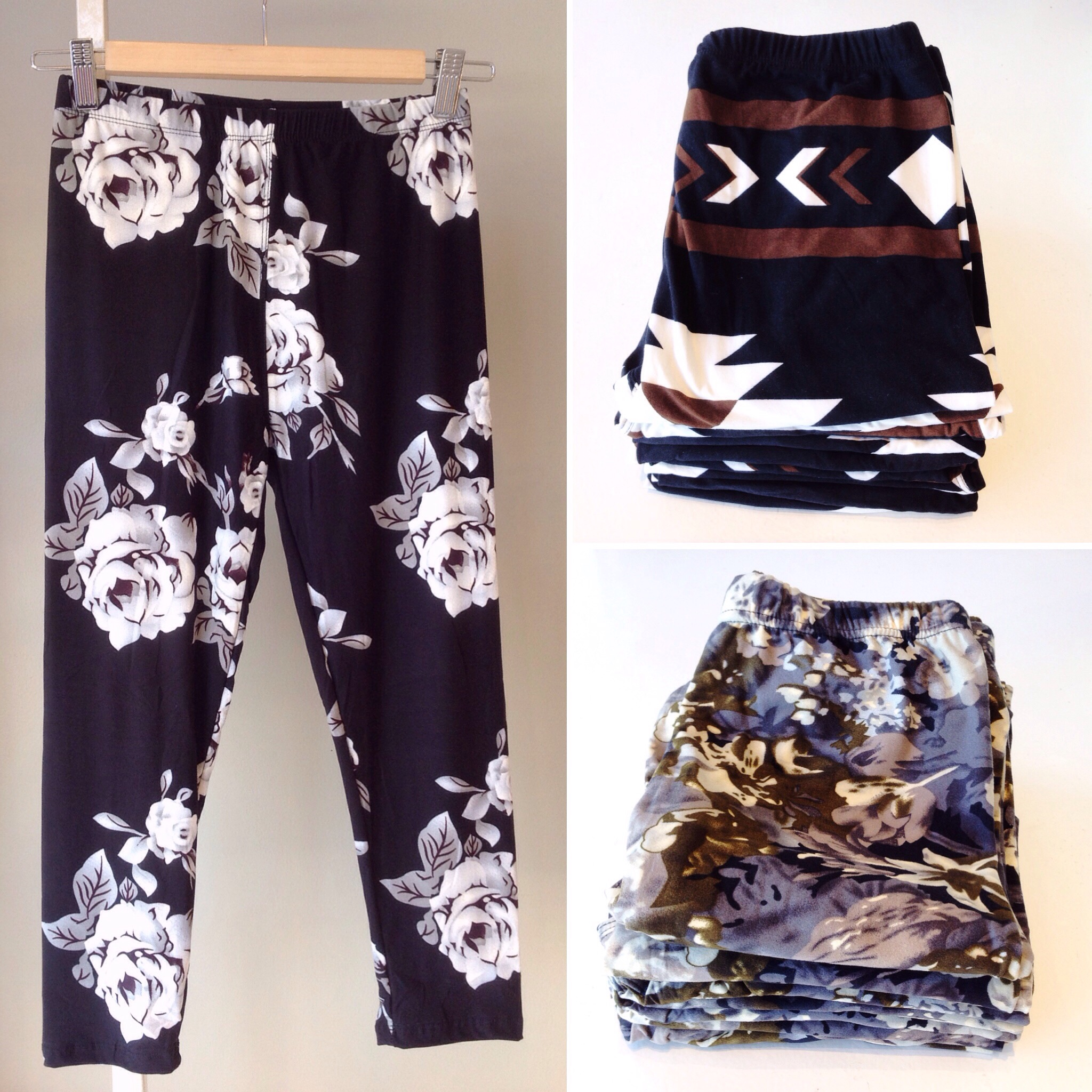Cropped one size leggings, $21