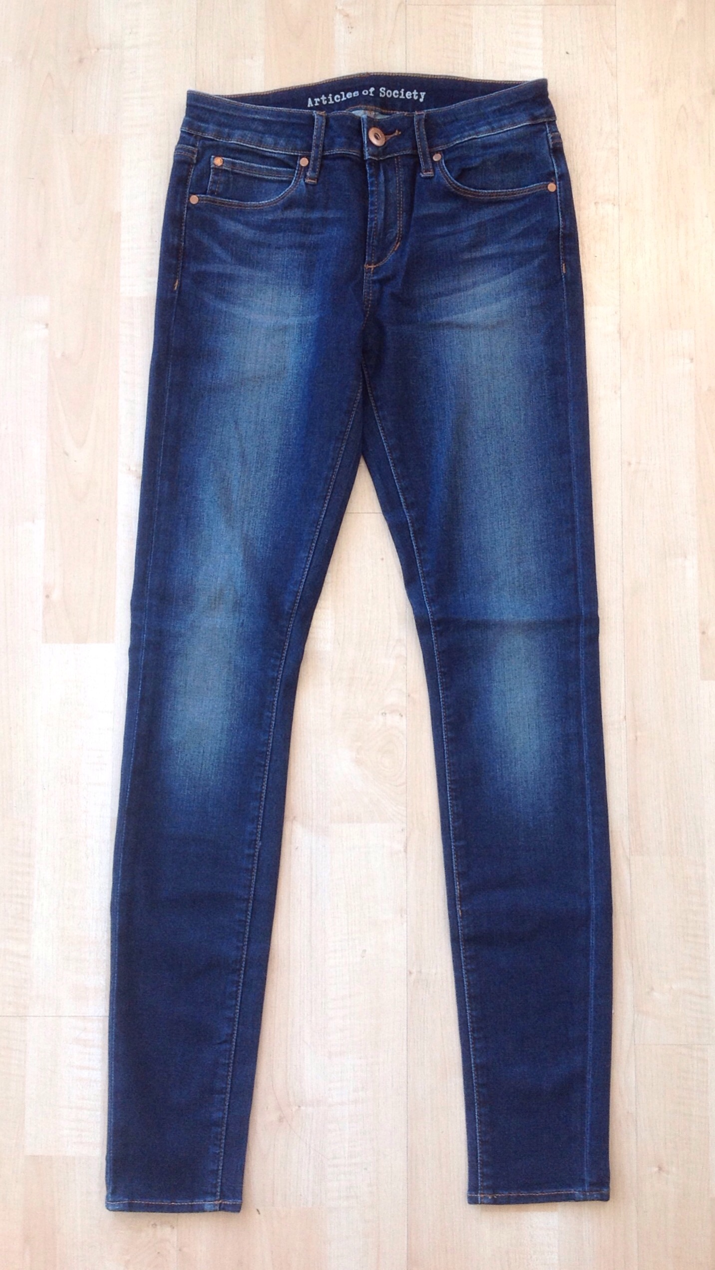 Articles of Society soft skinny jeans, $59