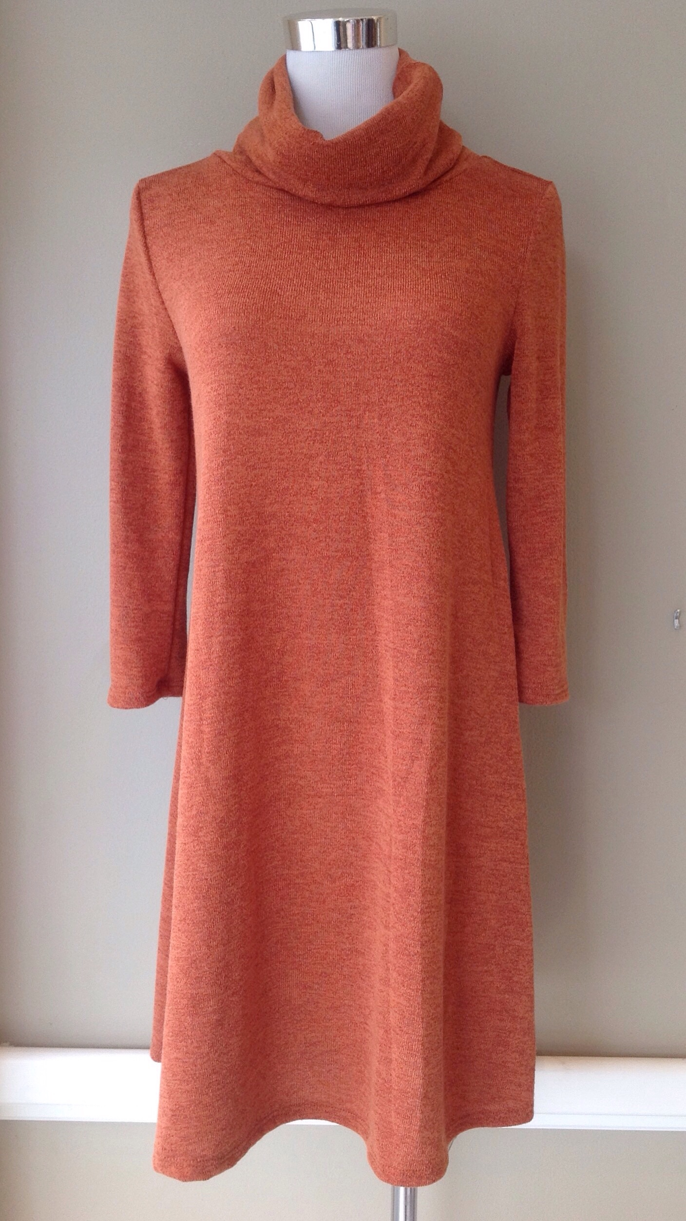 Turtleneck sweater dress, $38