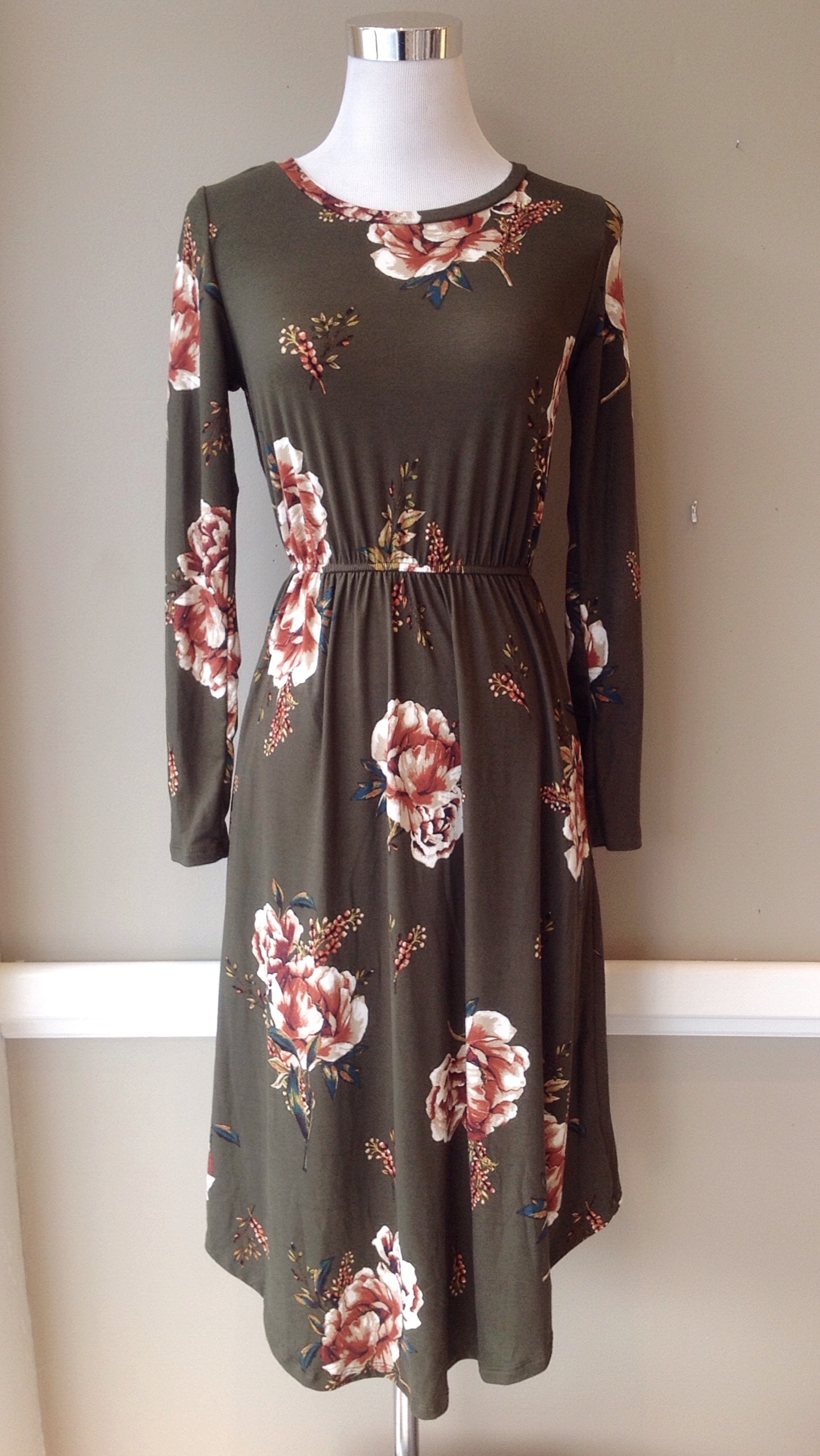 And olive floral.