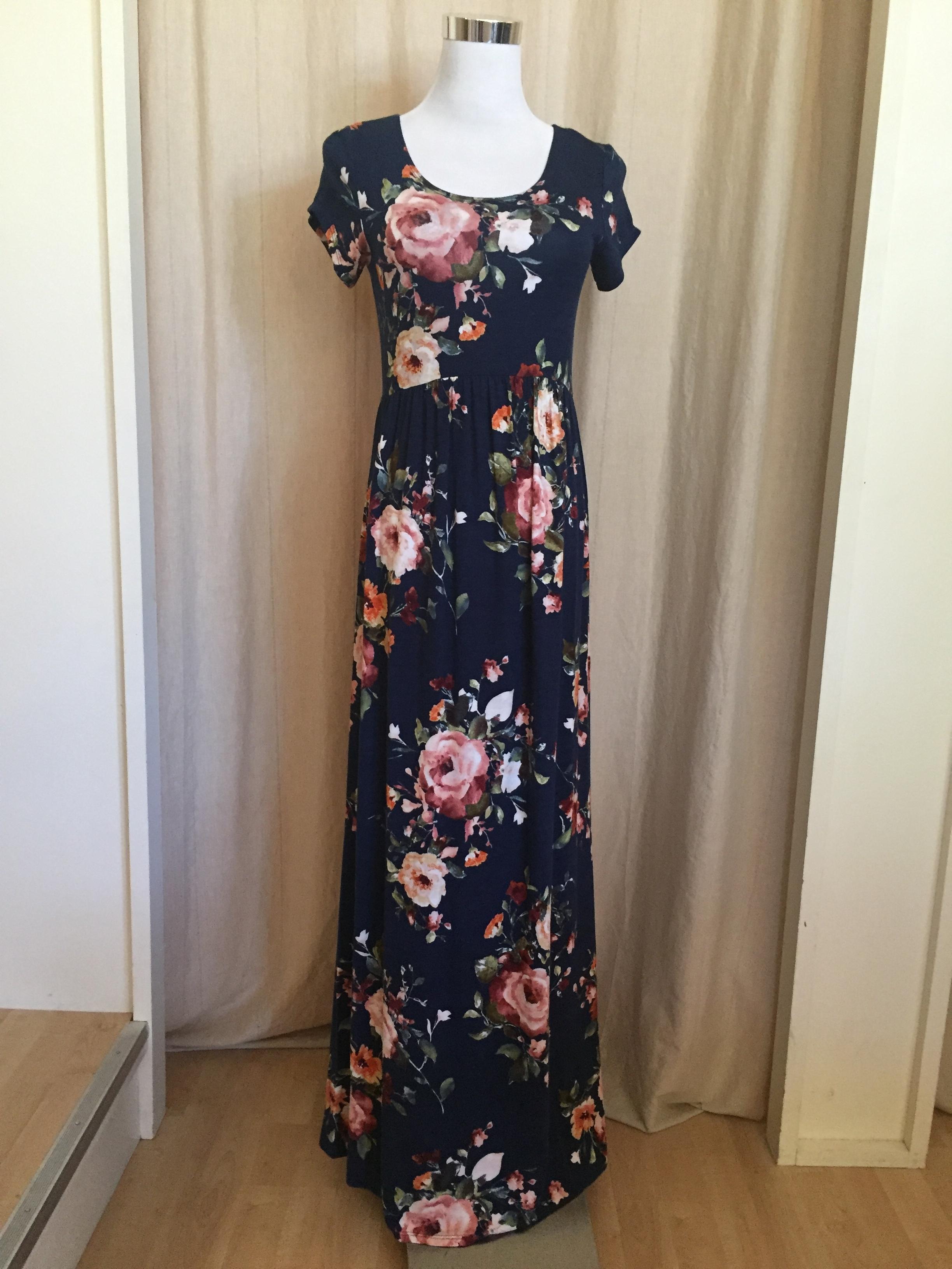 Stunning Floral Maxi, $35