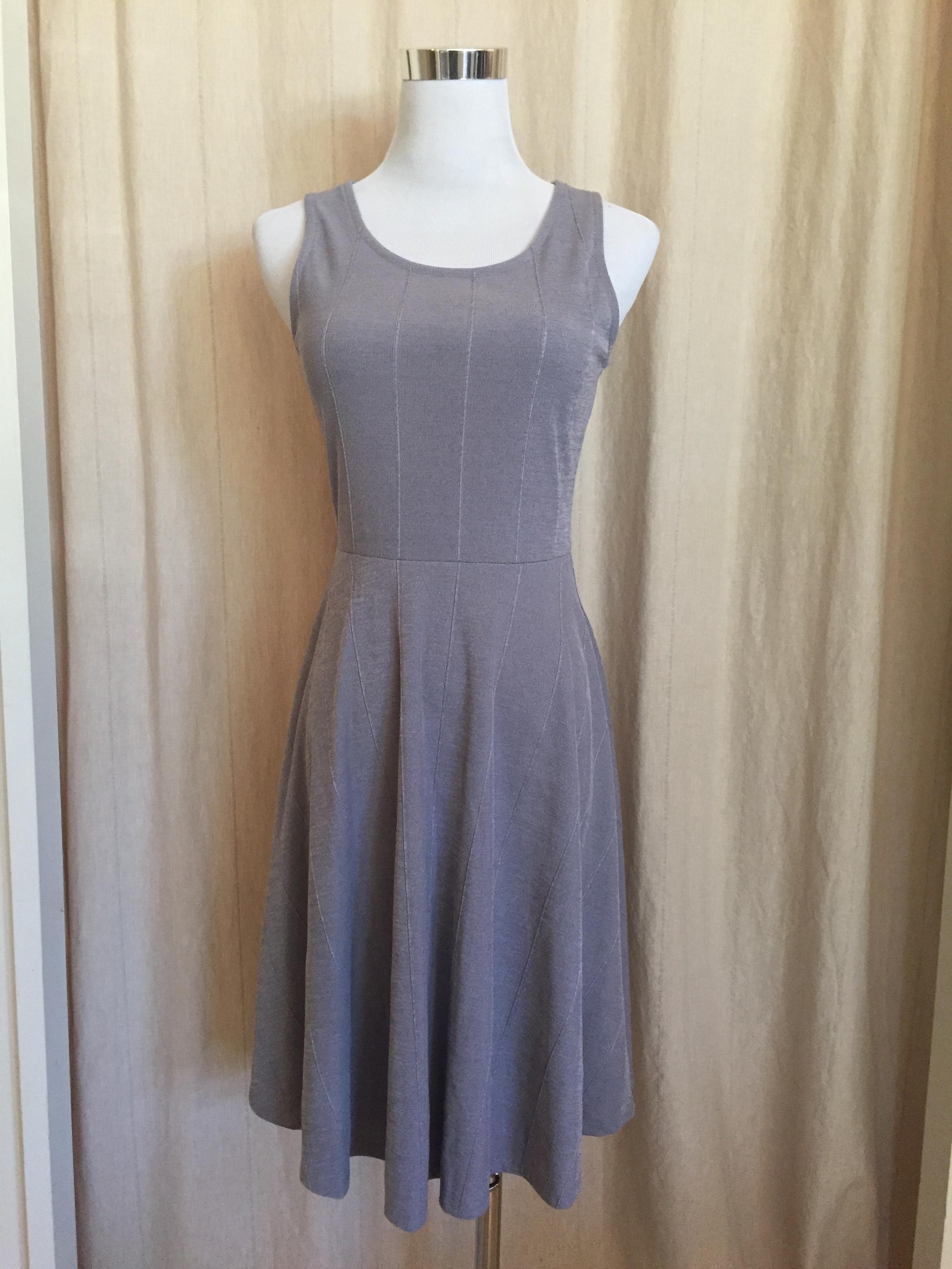 Gray Skater Dress, $42