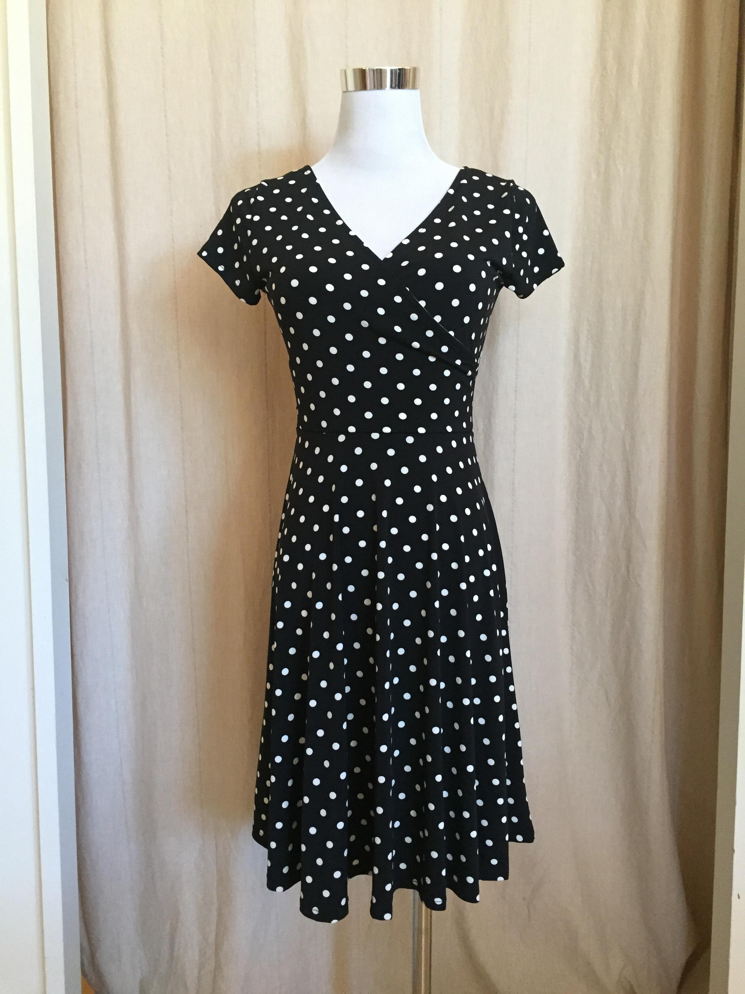 Flirty Polka Dot dress, $42