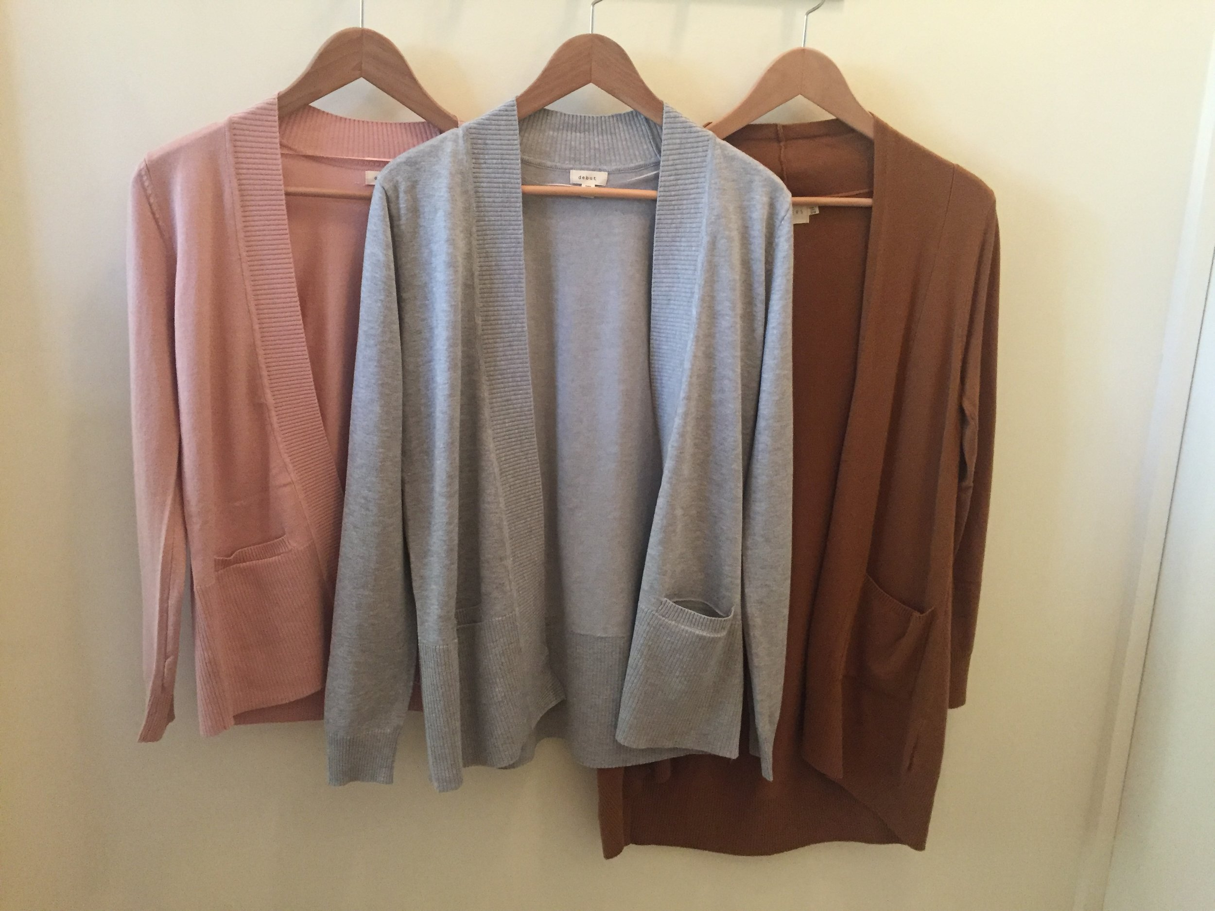 Cozy Cardigans, $34(short) and $42(long)
