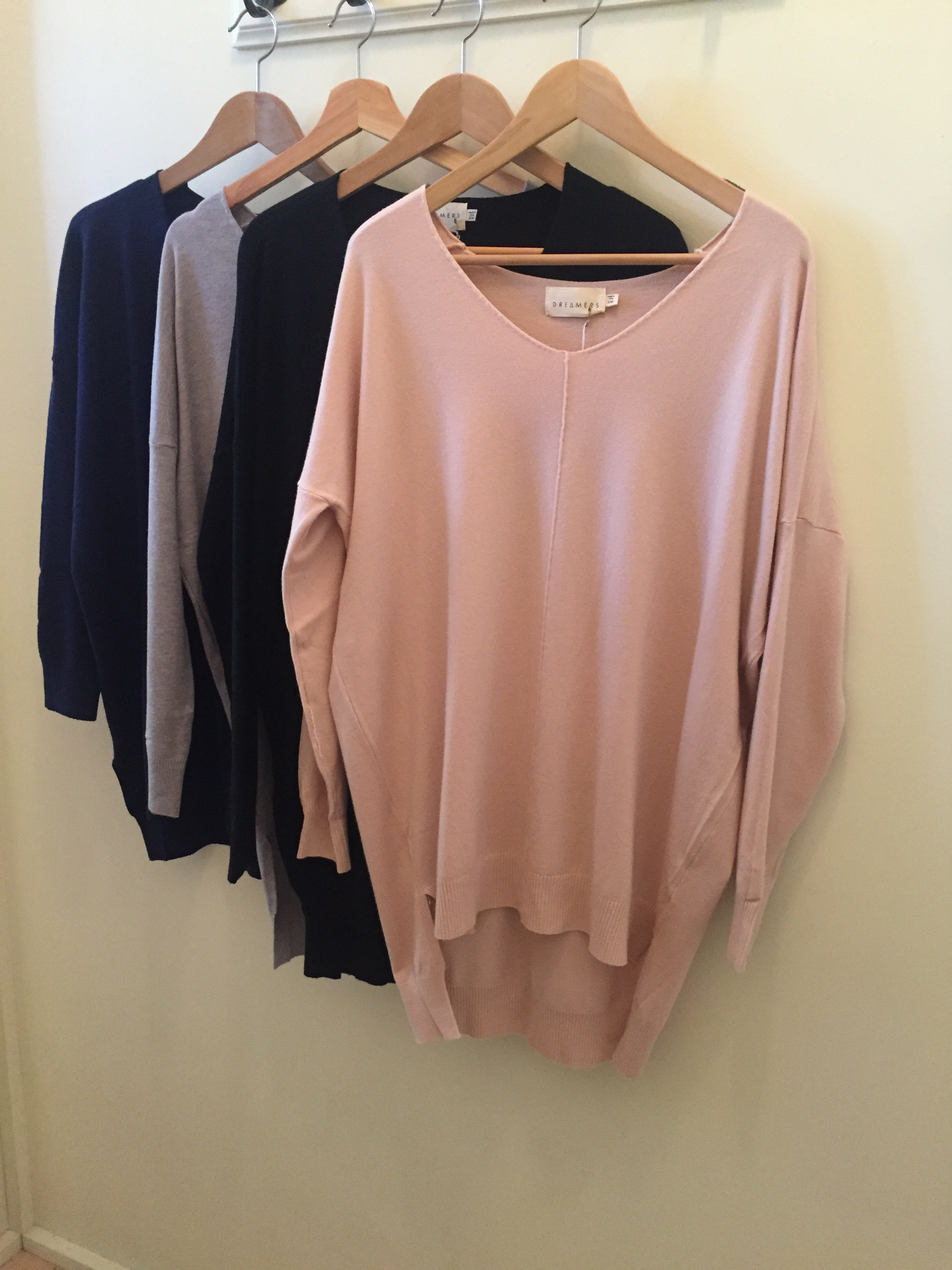 Ultra Soft Dreamers V-Neck Sweater, $42