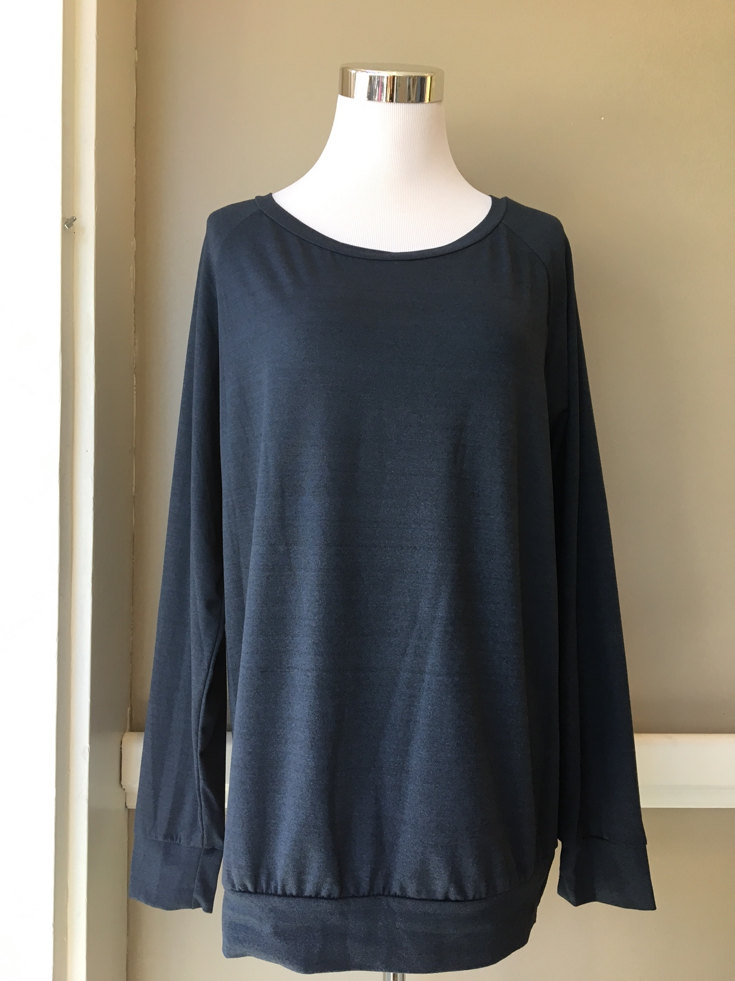 Long Sleeve Basic ($32, variety of colors and lengths)