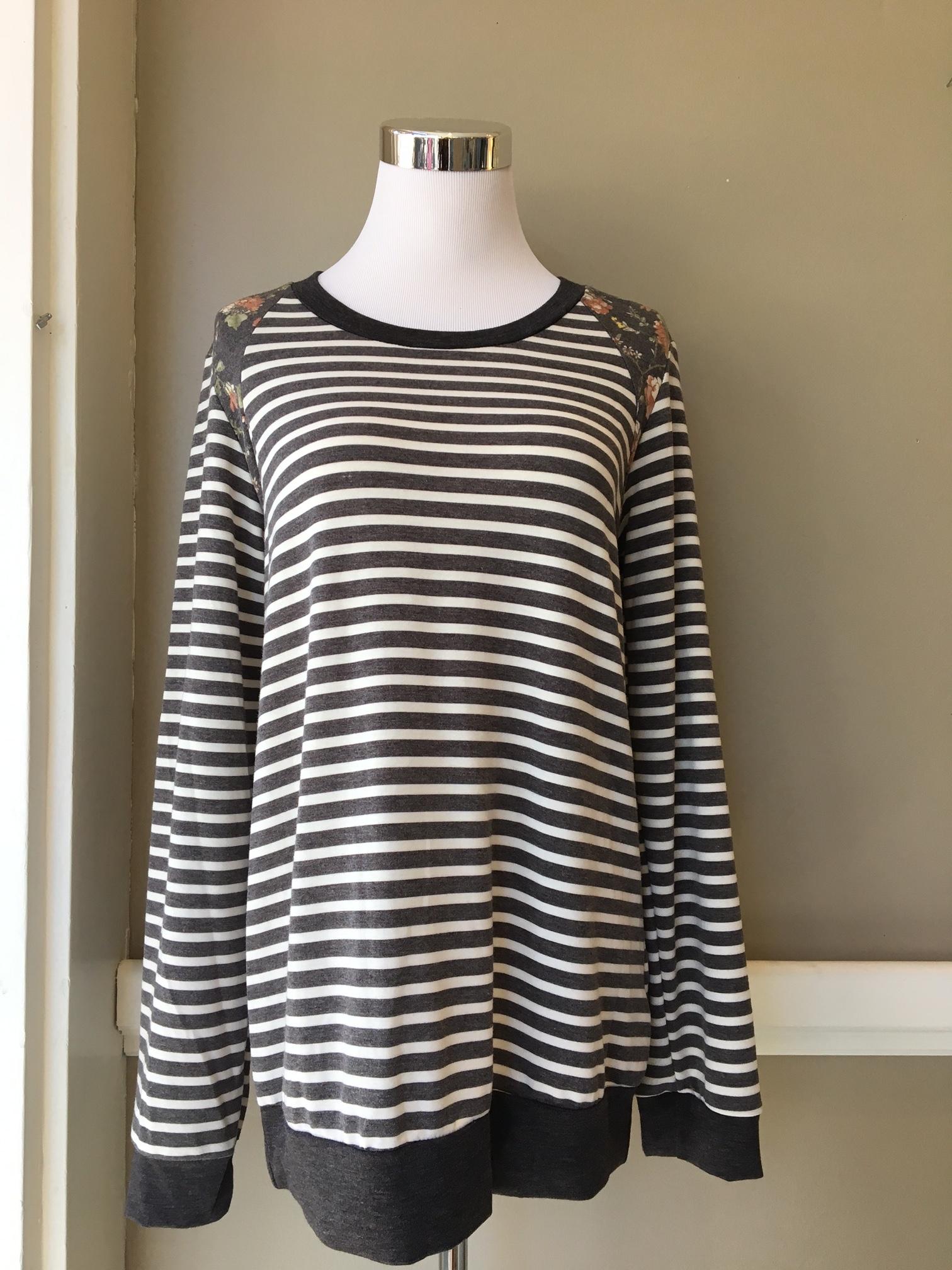 Striped Long Sleeve ($35)