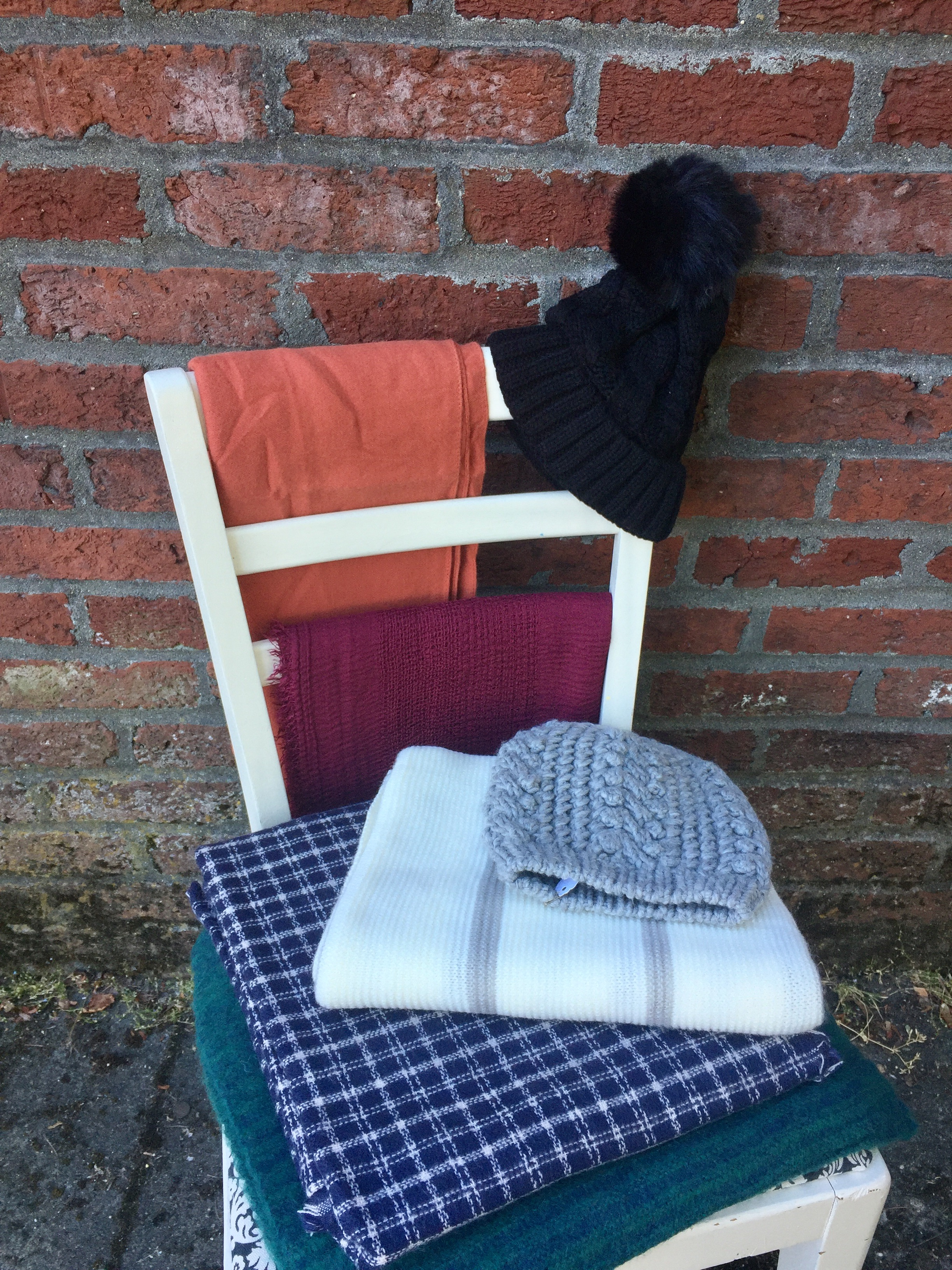 Hats and Scarfs (range from $16 to $24)