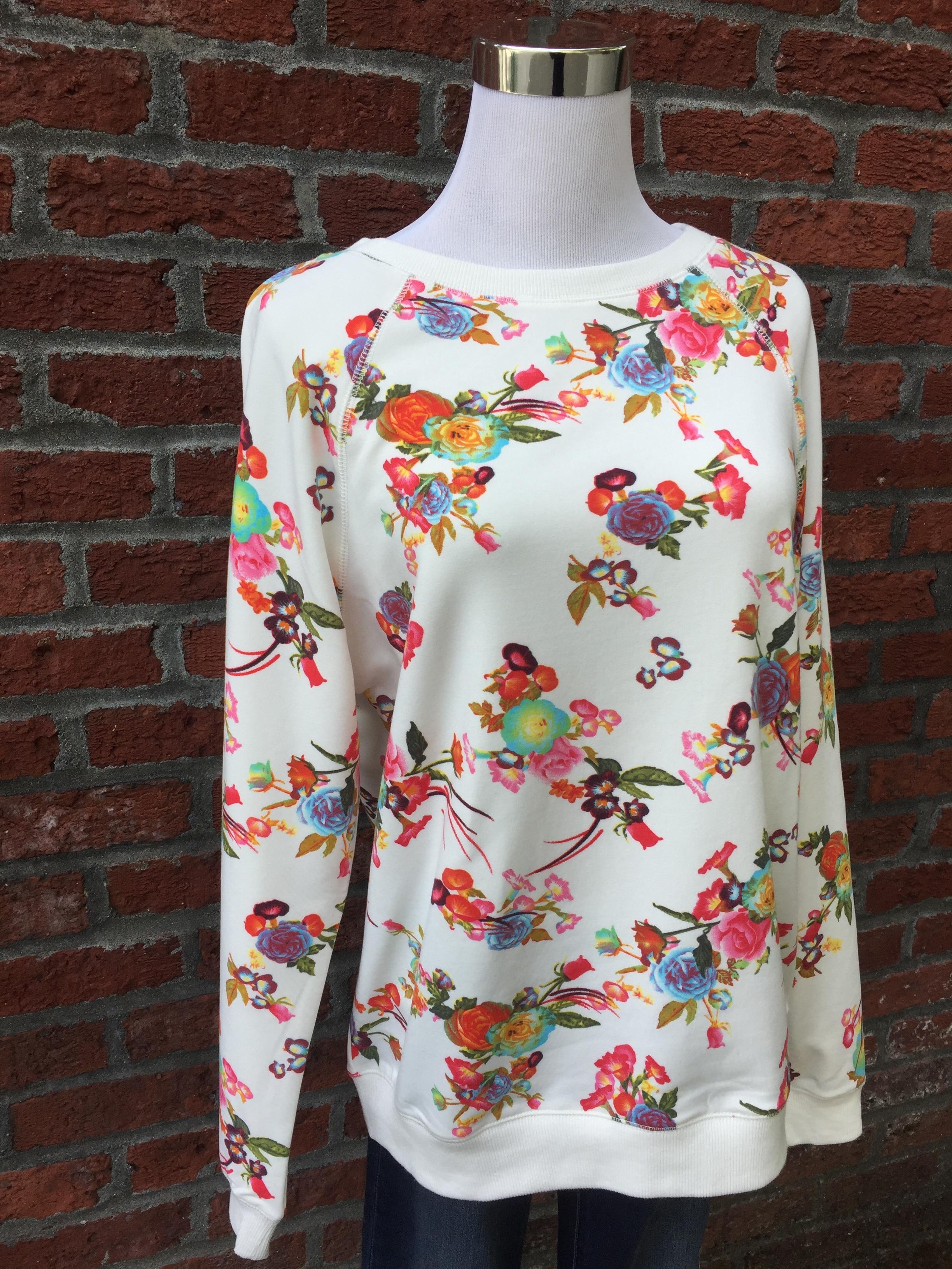 Hailey & Co floral sweatshirt ($42)