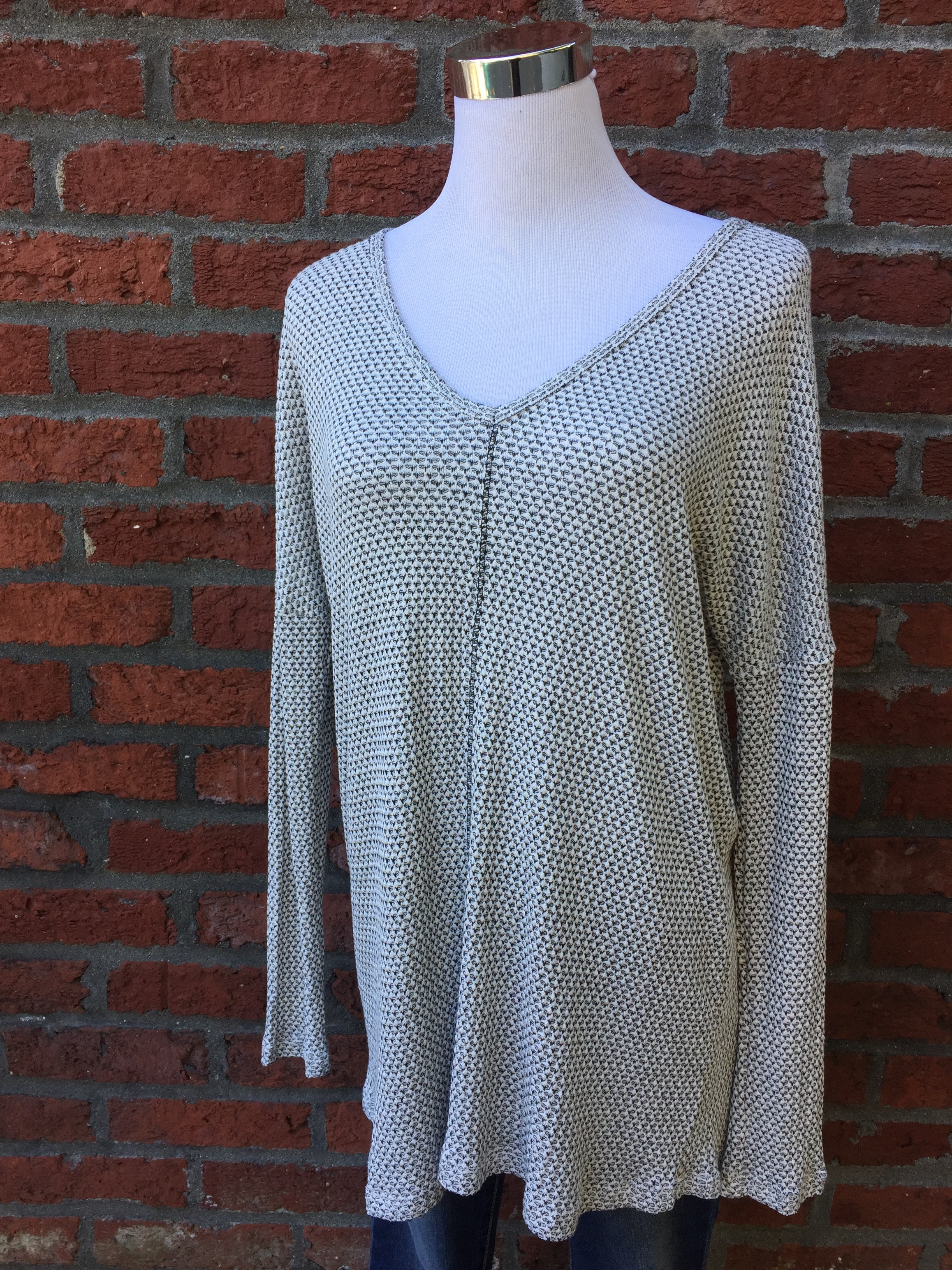 Staccato black and white top ($34)