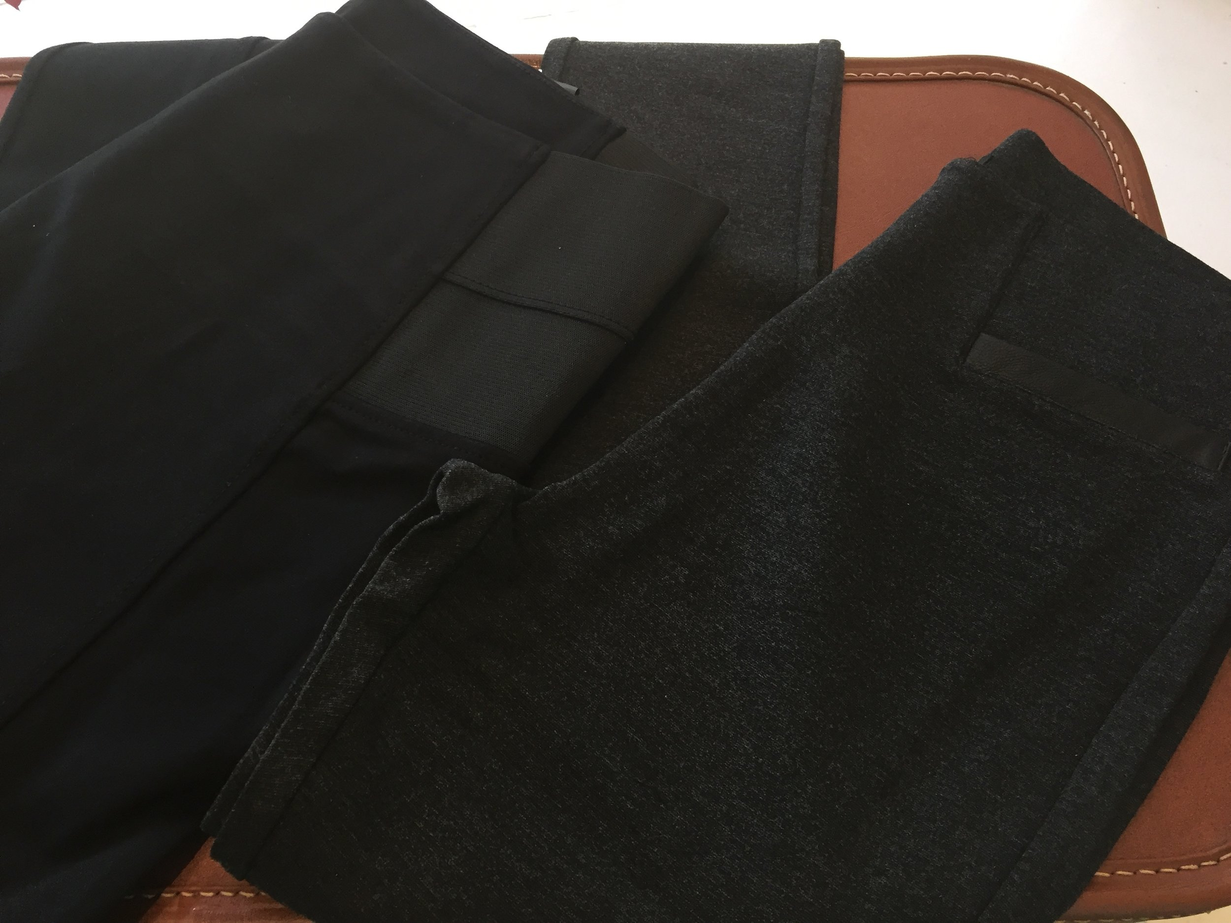 Ponte Pant Sizes and Styles