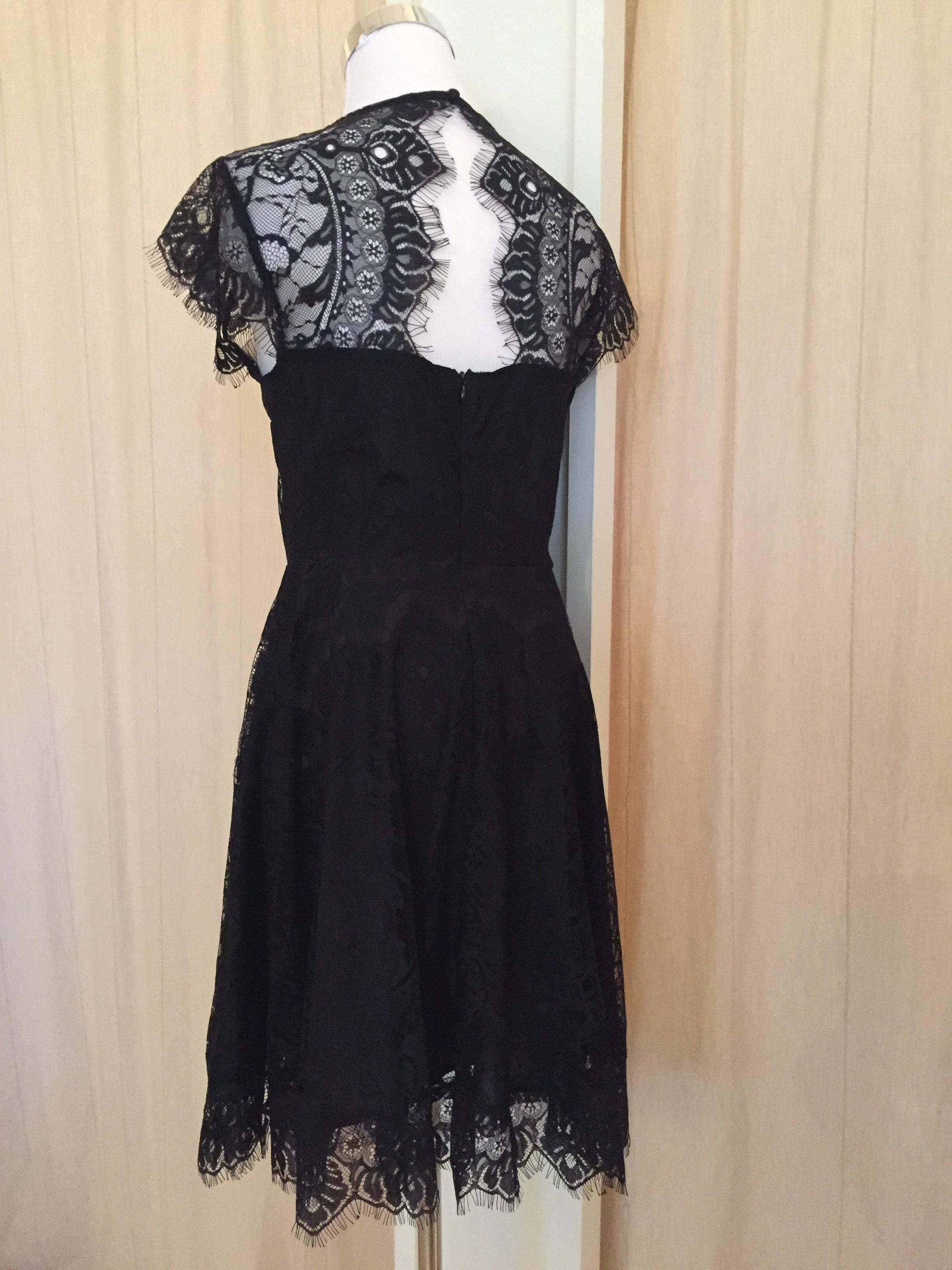 Black lace dress $64