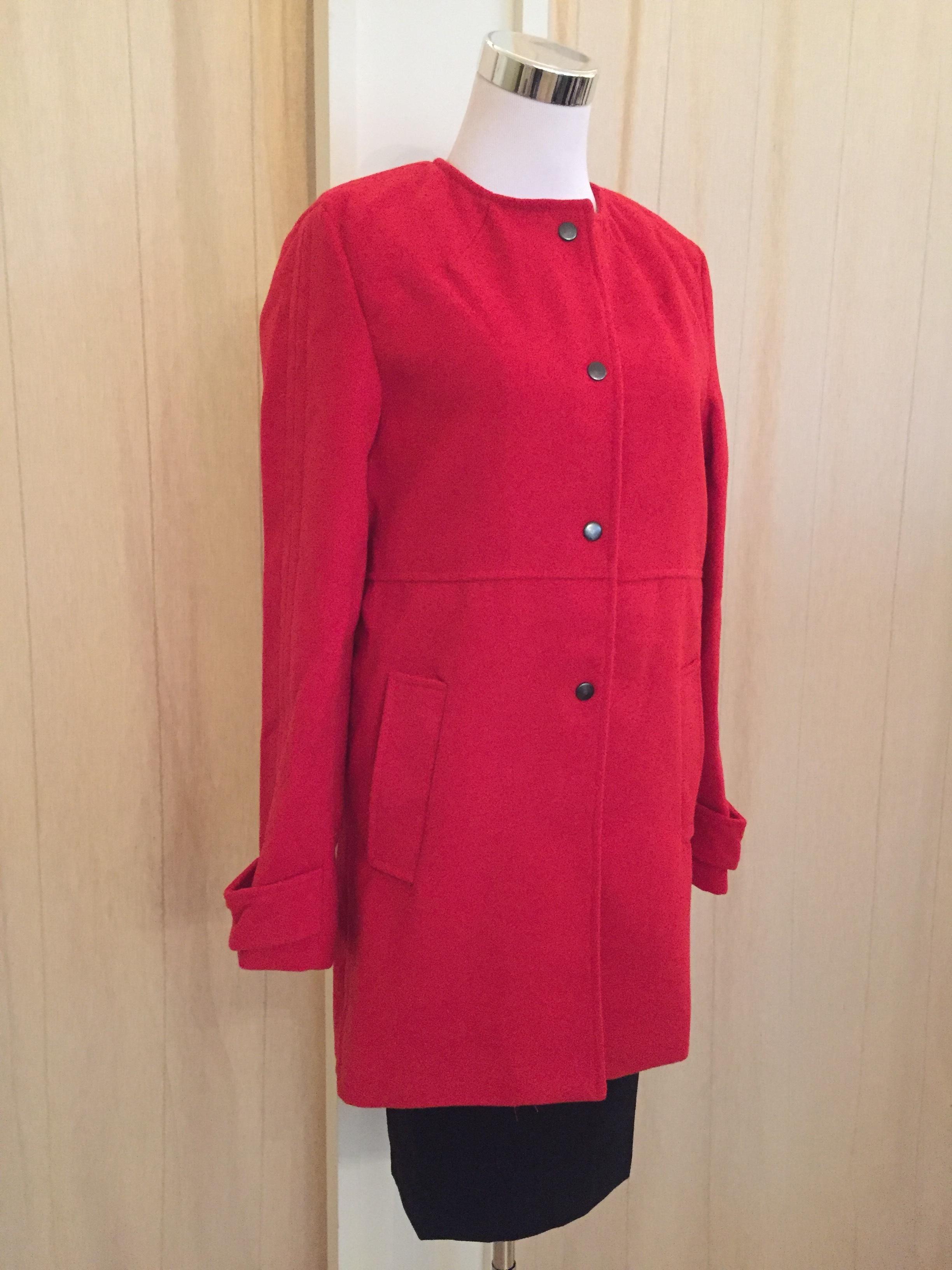 Red coat $64