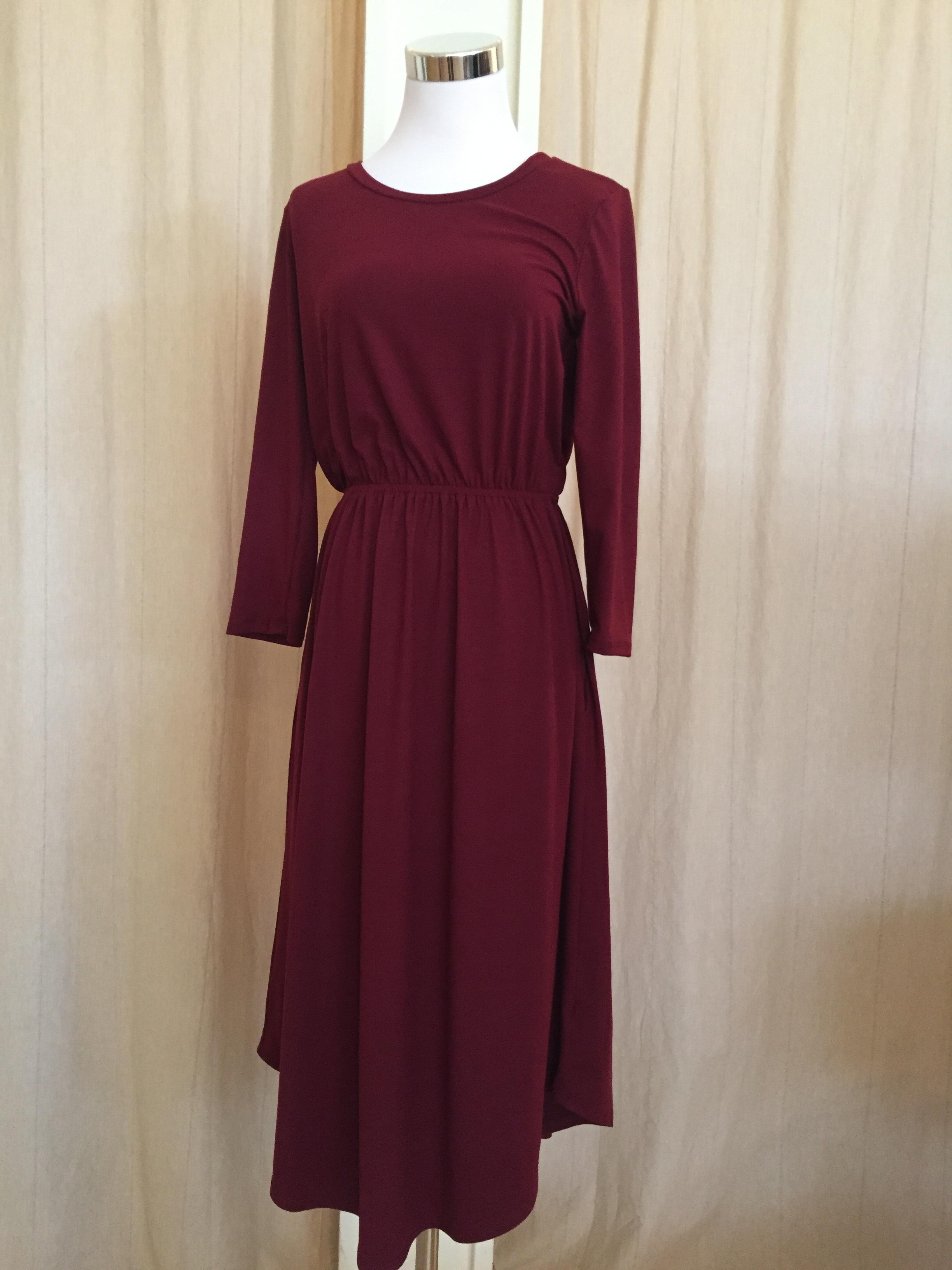 Reborn Red Dress w/ Pockets ($35)