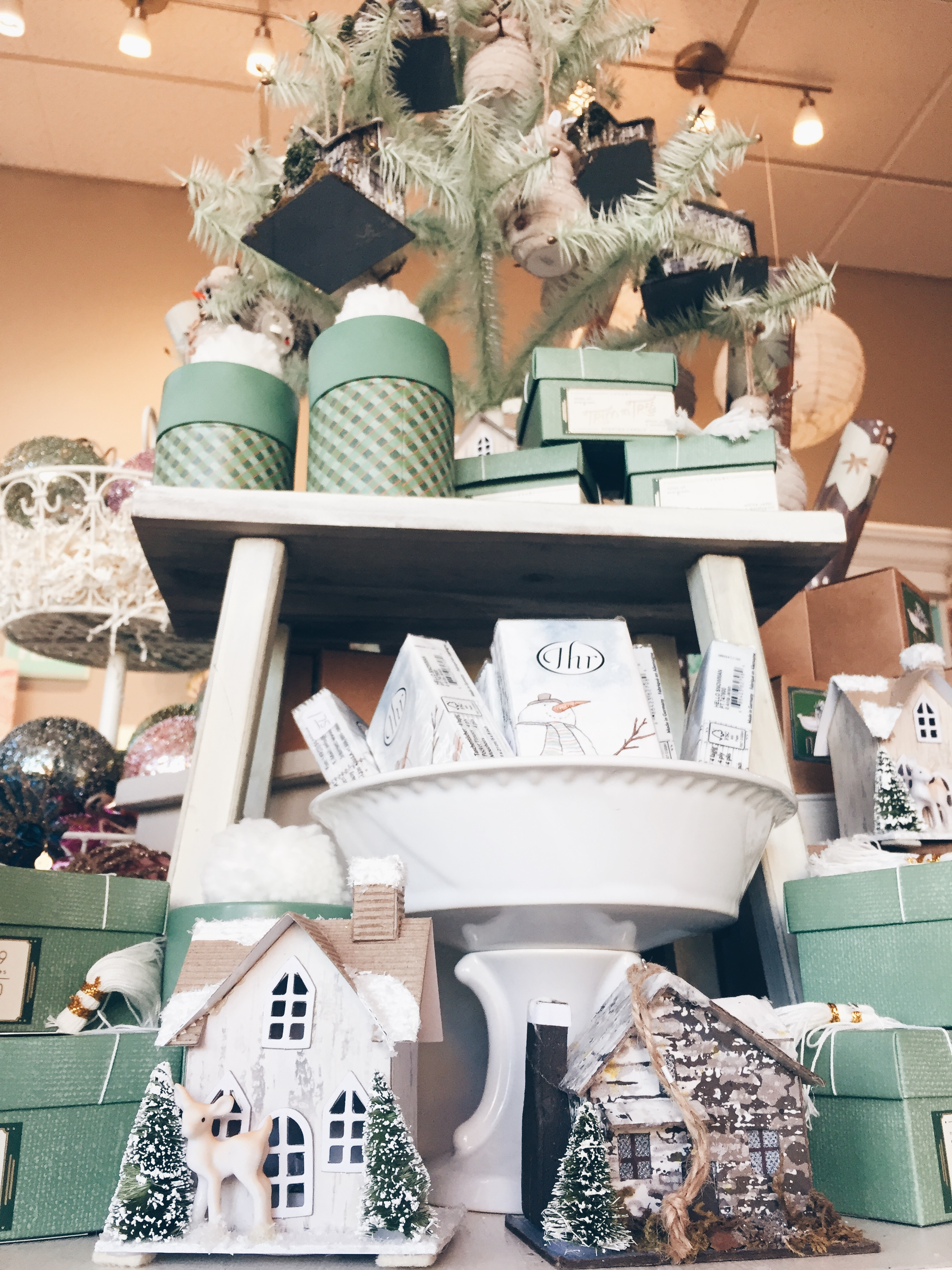 Holiday gifts- adorable ornaments, candles, and more!