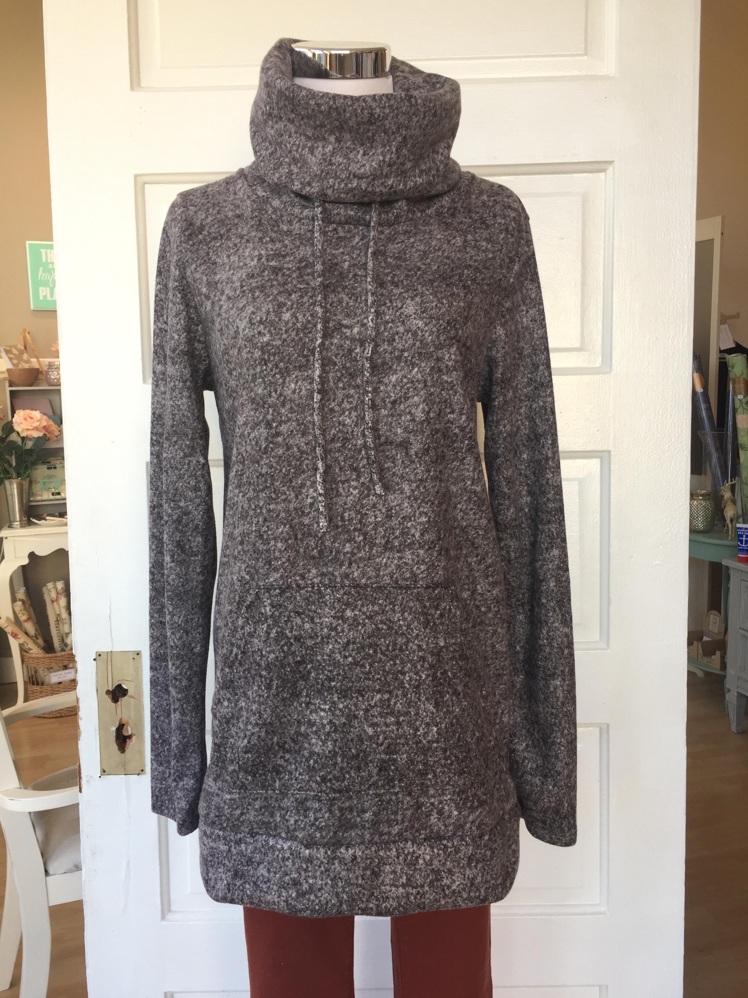 Heather Cowl Sweatshirt ($35)