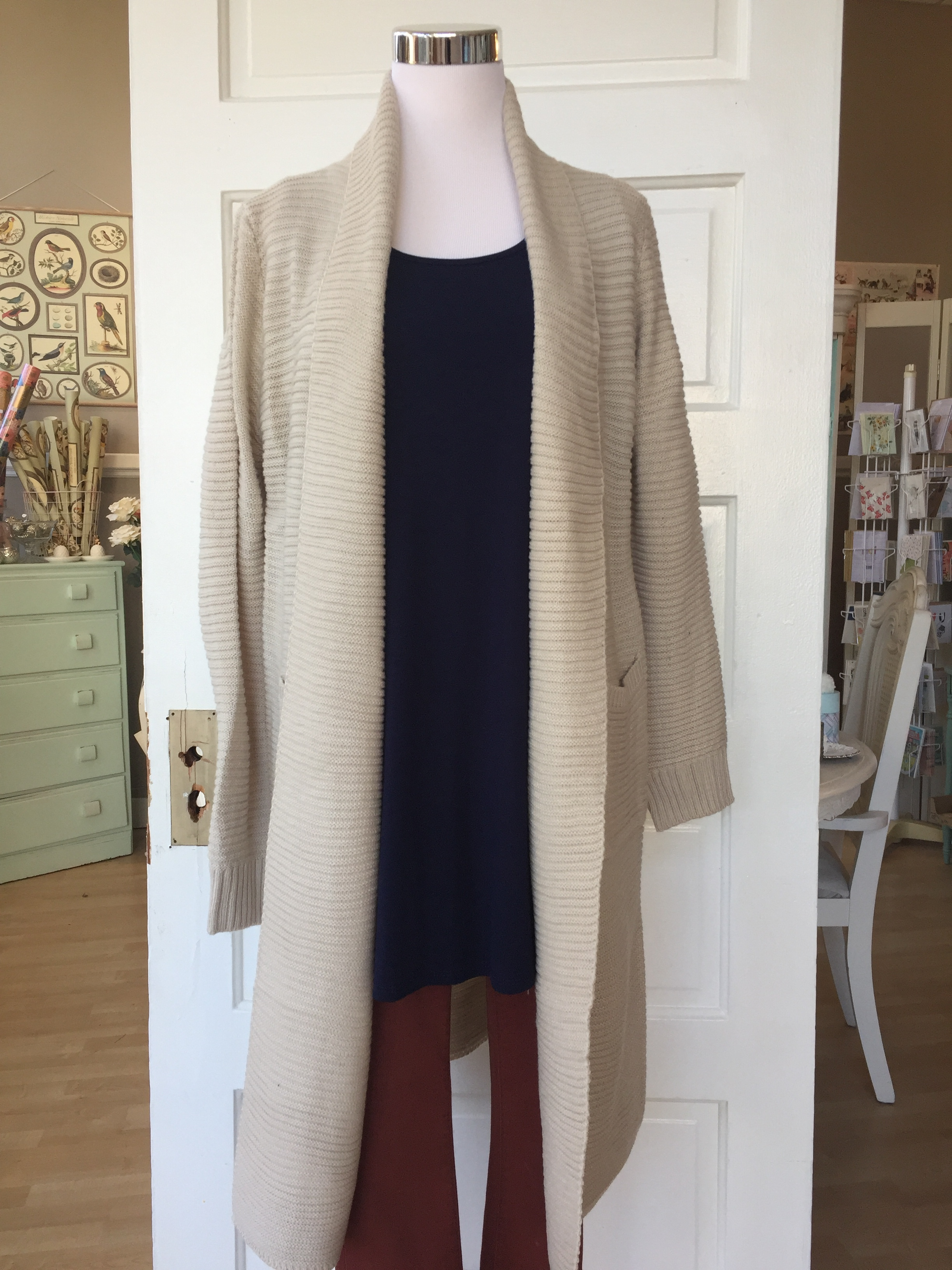 Ivory Duster $52