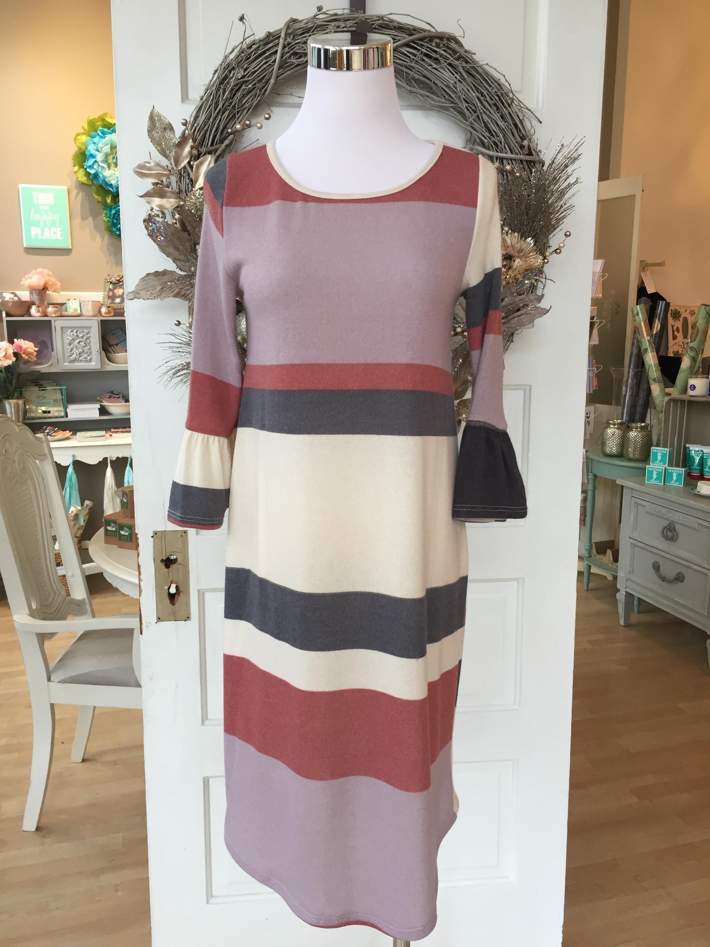 Les Amis Striped Dress $38
