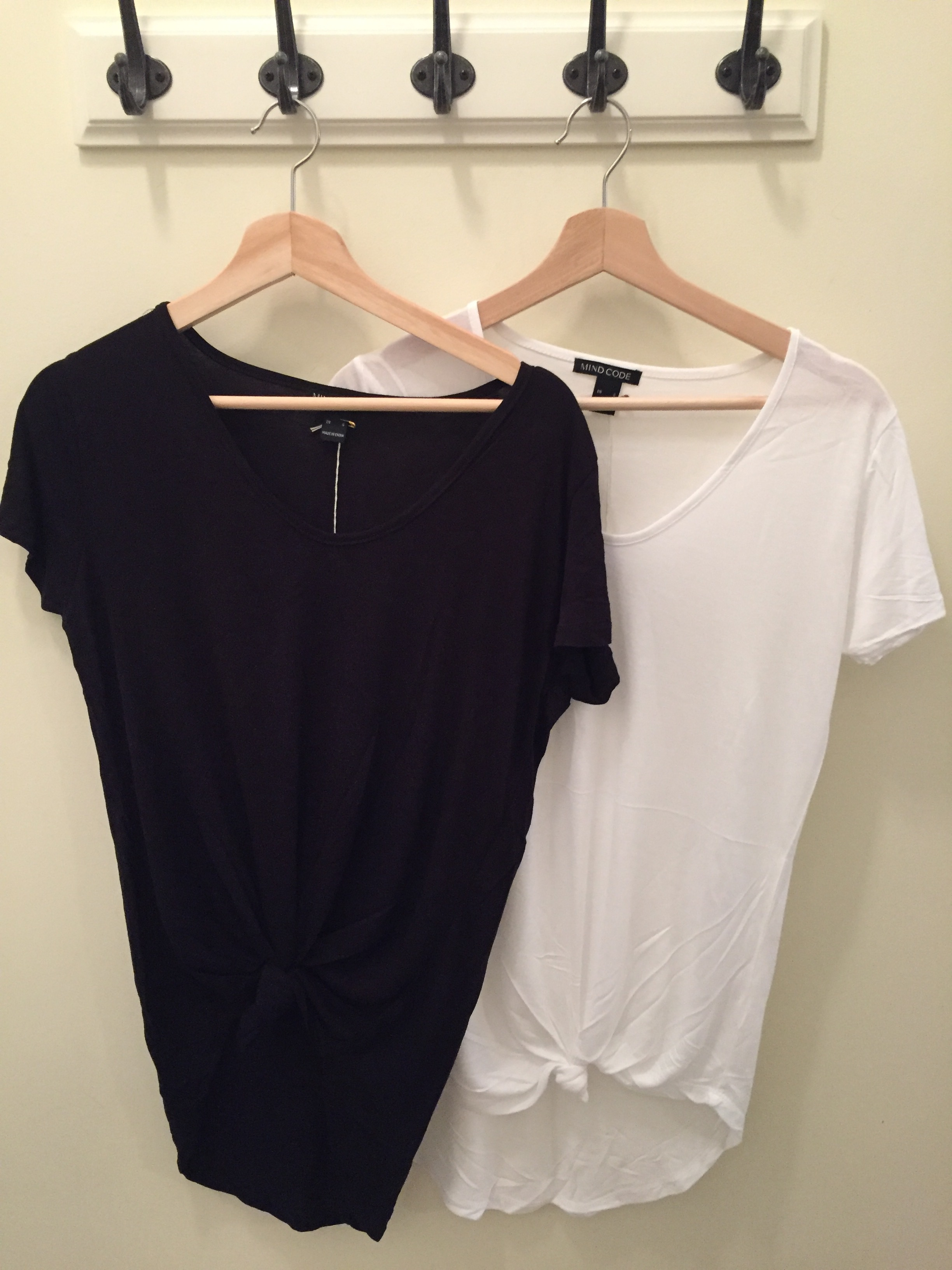Knot Front Tee $16