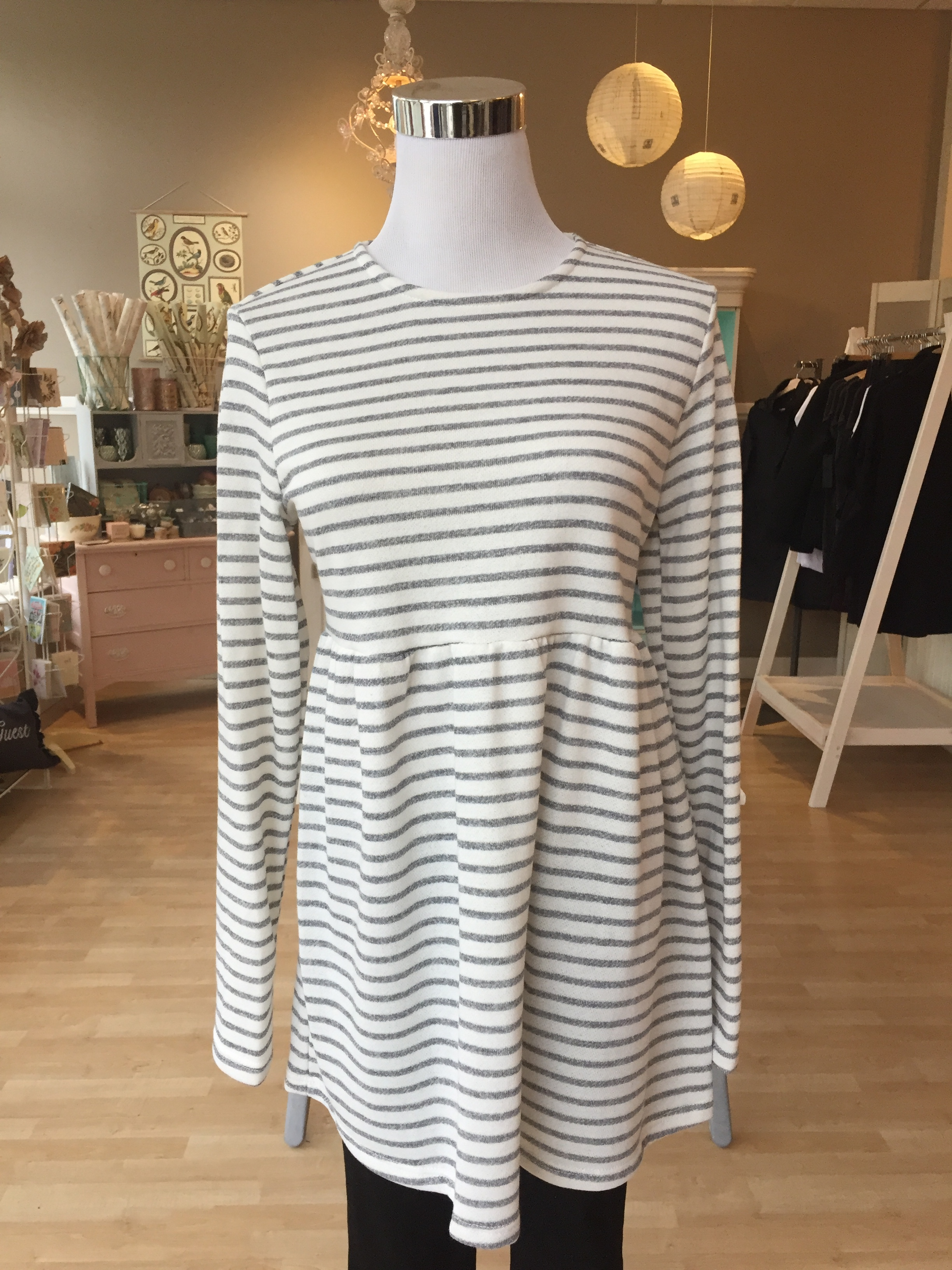Stripe Long Sleeve $38