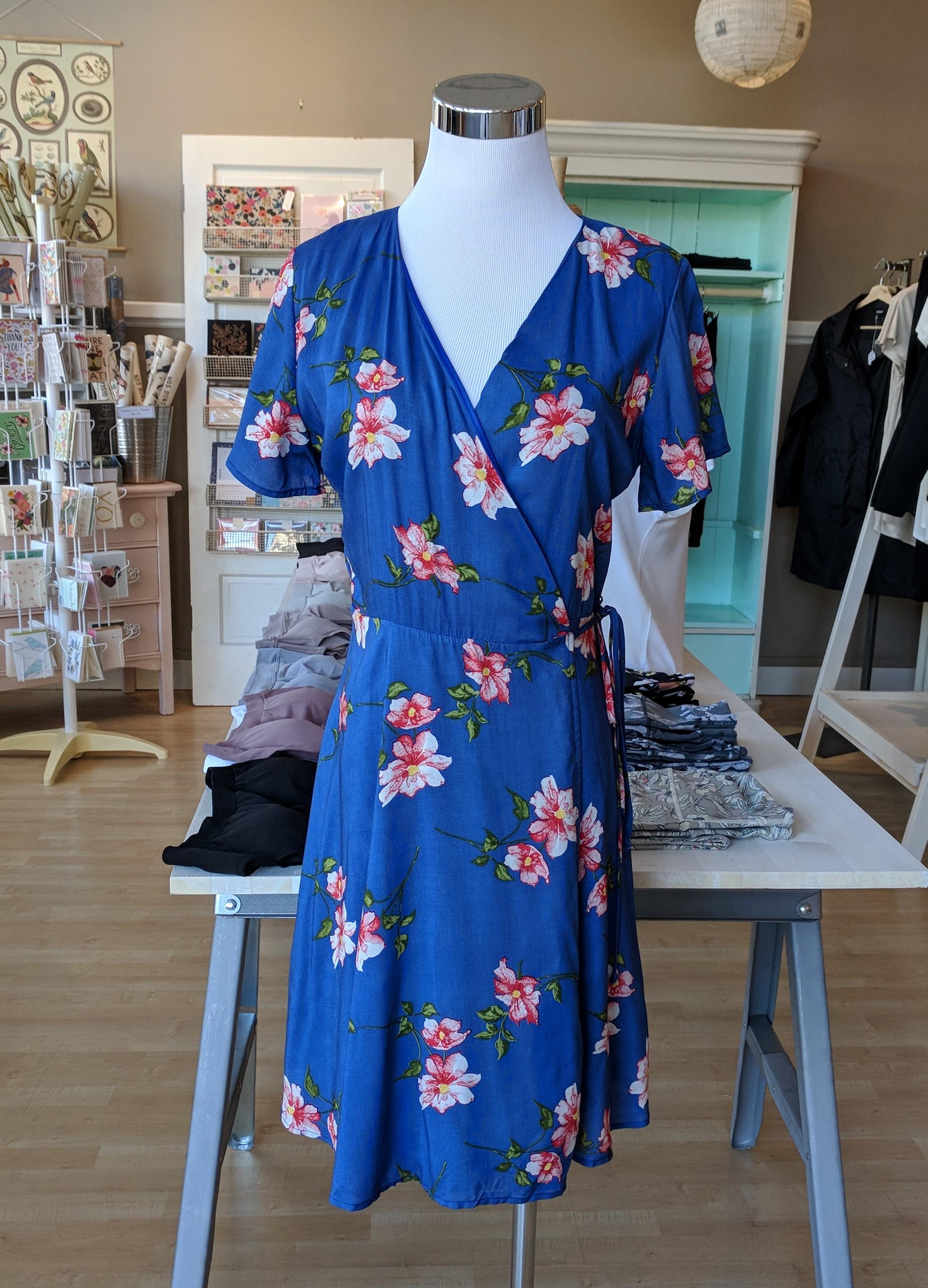 Floral midi dress $52
