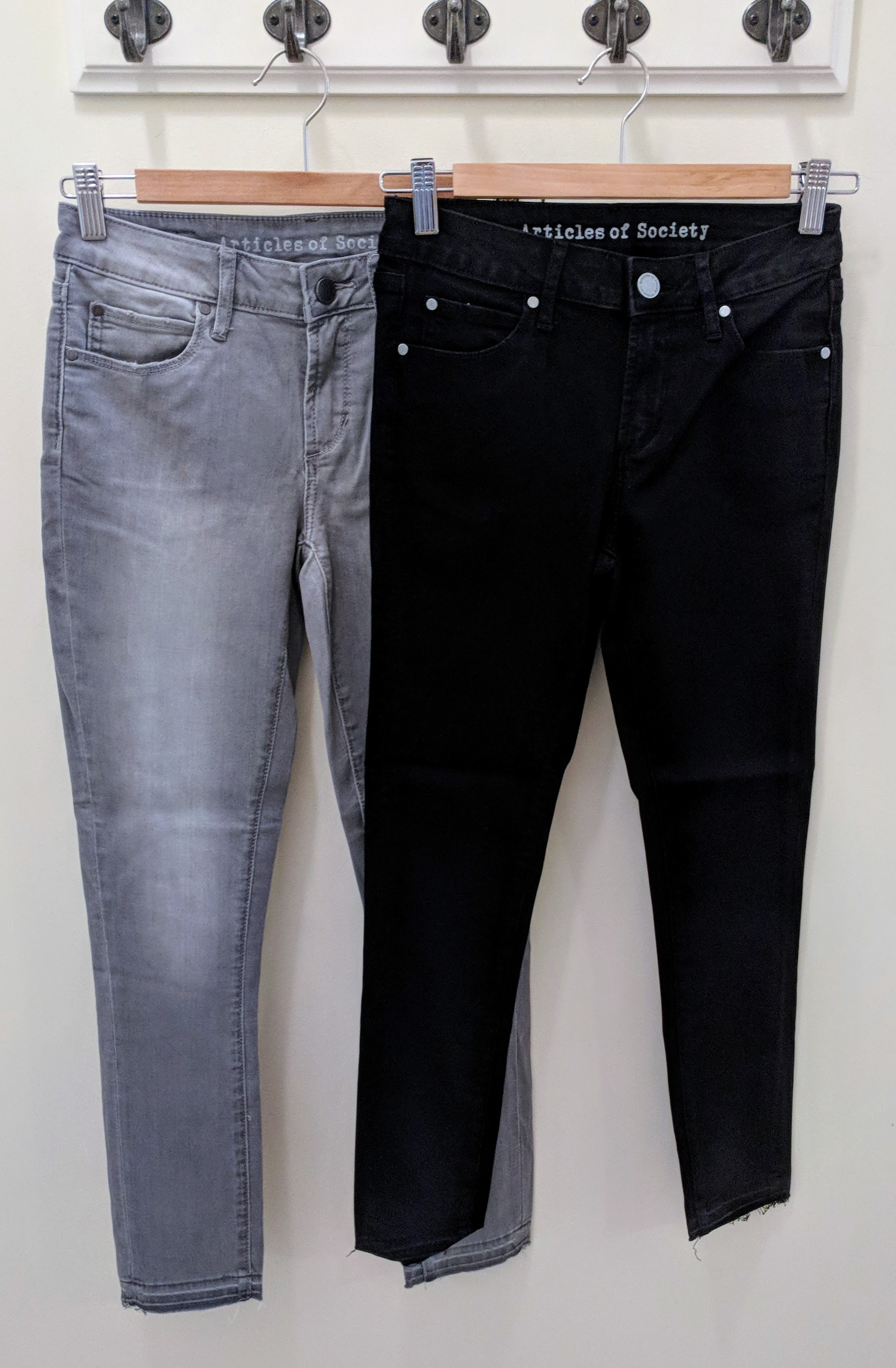 Articles of Society Super soft crop jeans