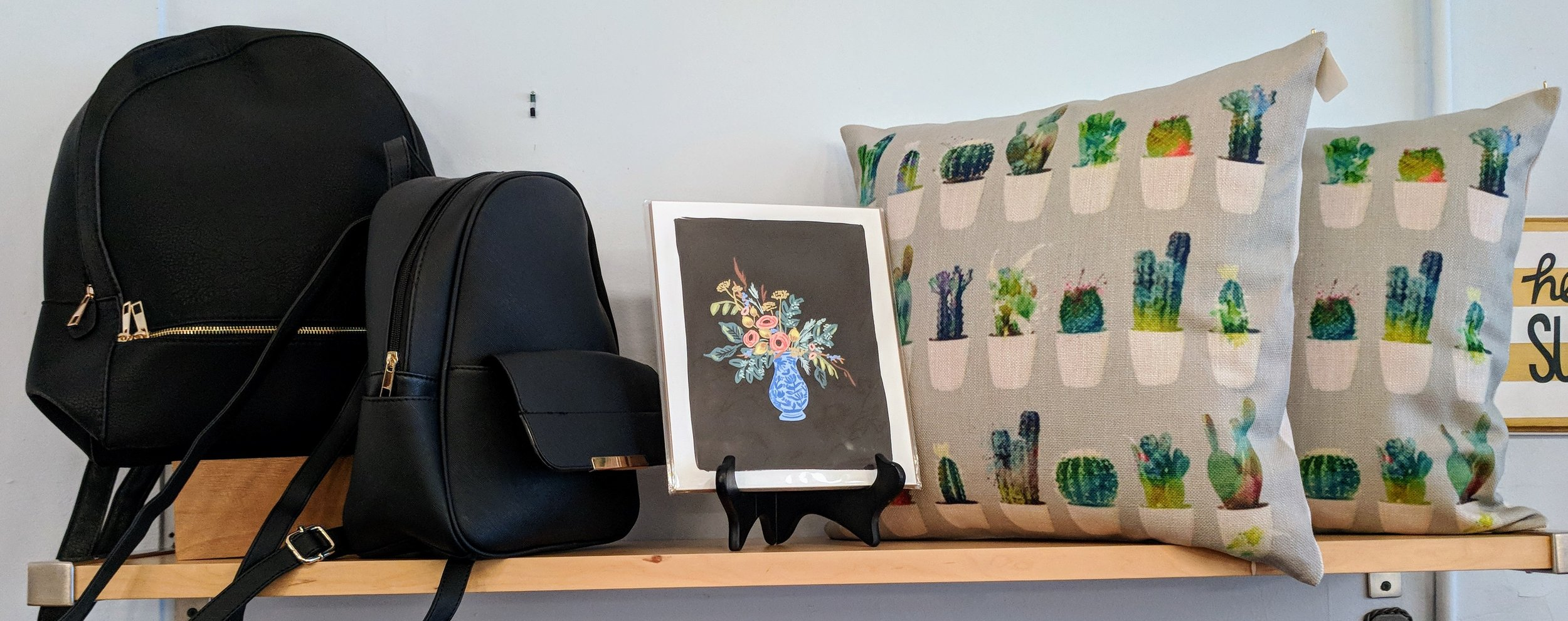 Potted Cactus Pillow $26