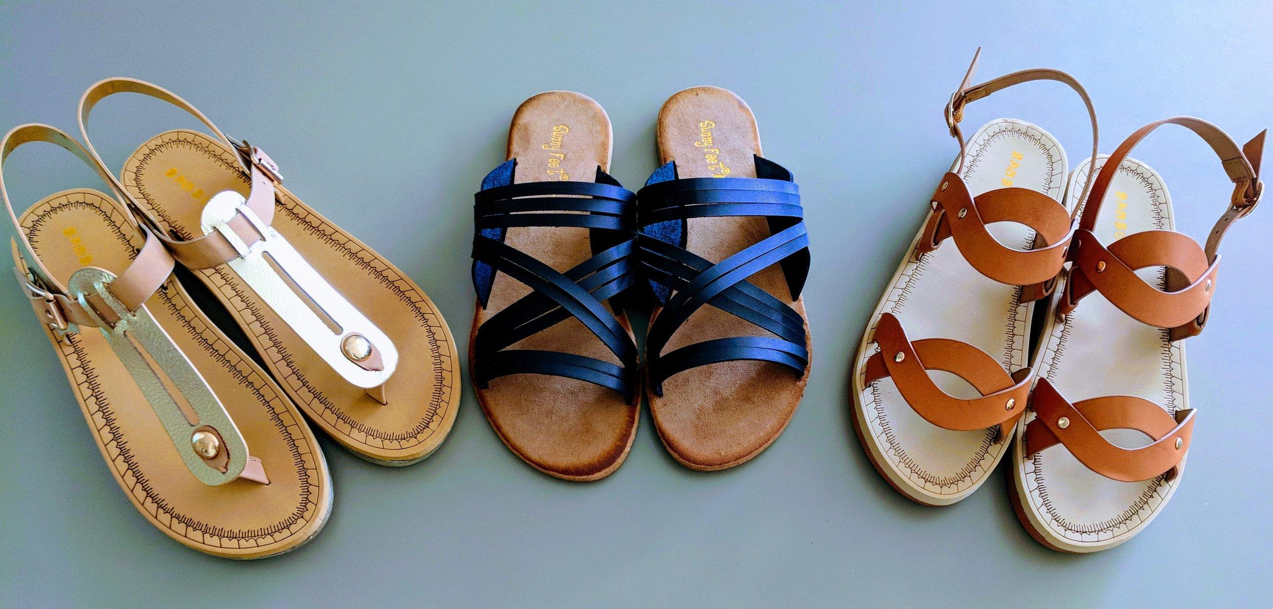 Cute New Sandals!
