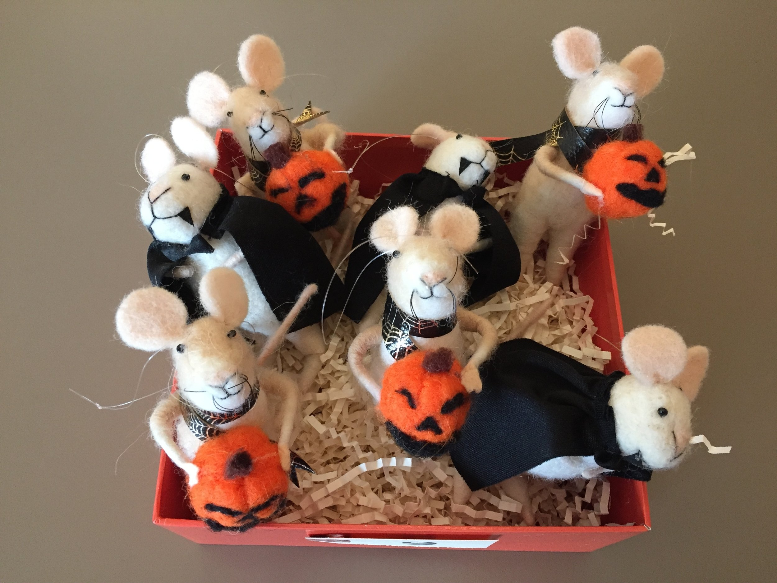 Adorable Halloween Mice