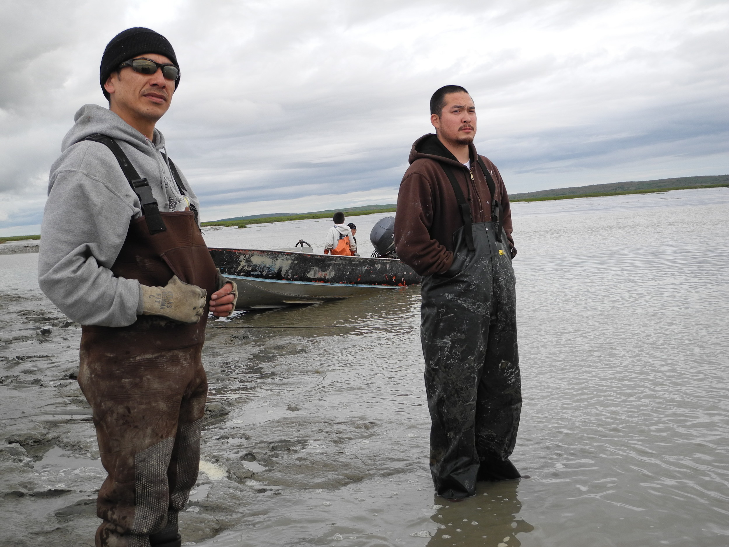 Subsistence fishing with family in Bristol Bay, AK