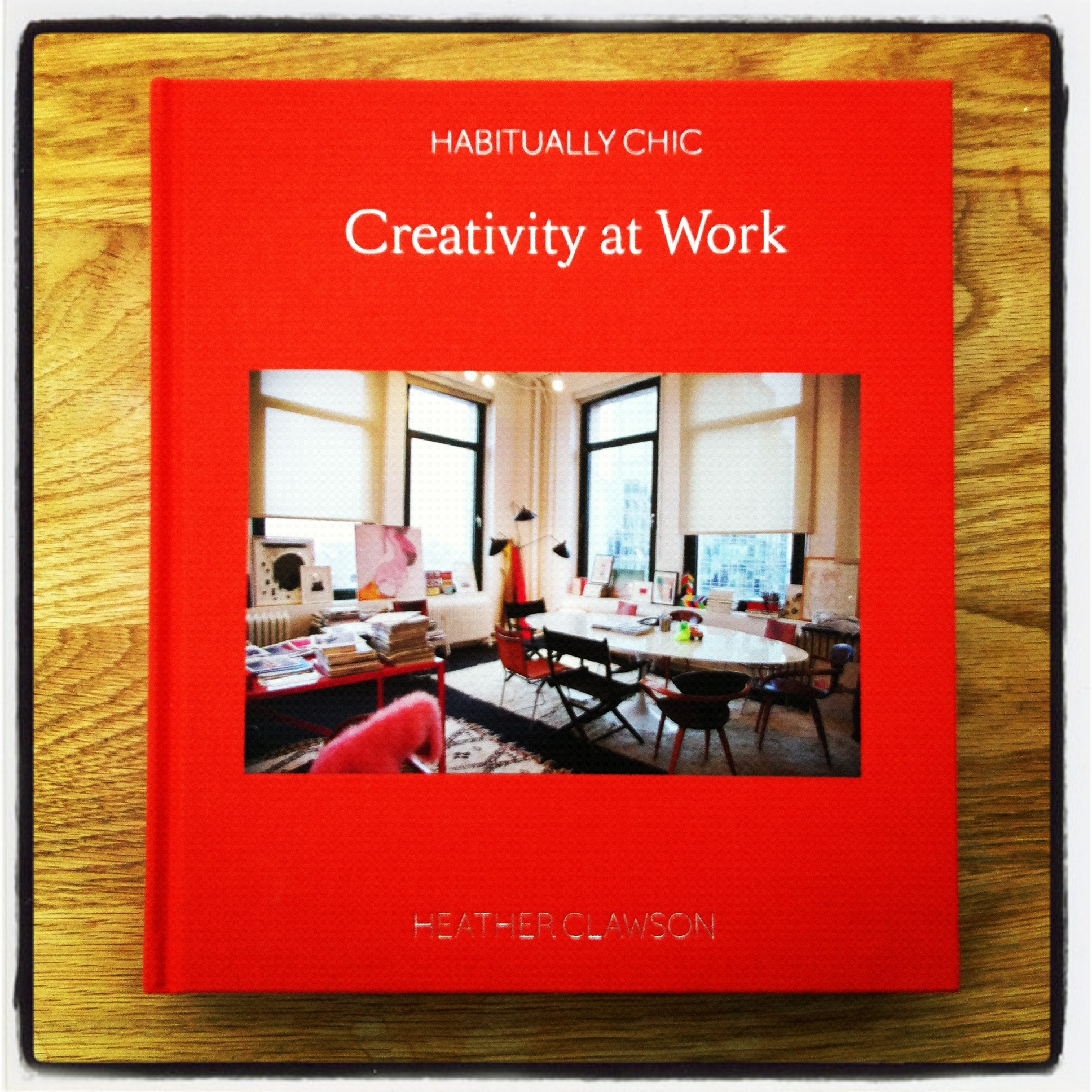 Creativity at Work, by Heather Clawson: a book to inspire you to get creative