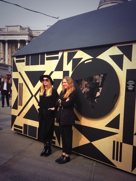 Although I did love the cool chicks from  Patternity who were one band member short of the sisters from  Haim .
